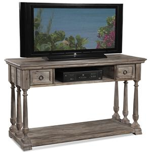 Media Console w/ 2 Drawers