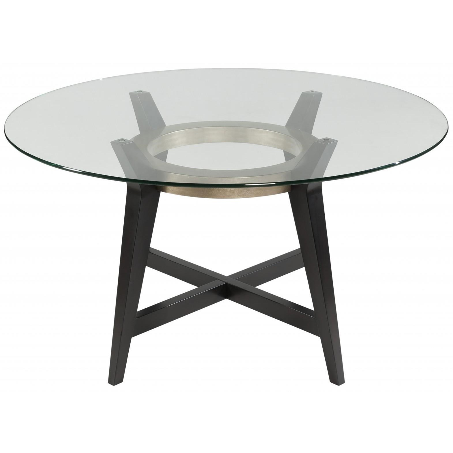 Thoroughly Modern Elston Dining Table by Bassett Mirror at Alison Craig Home Furnishings