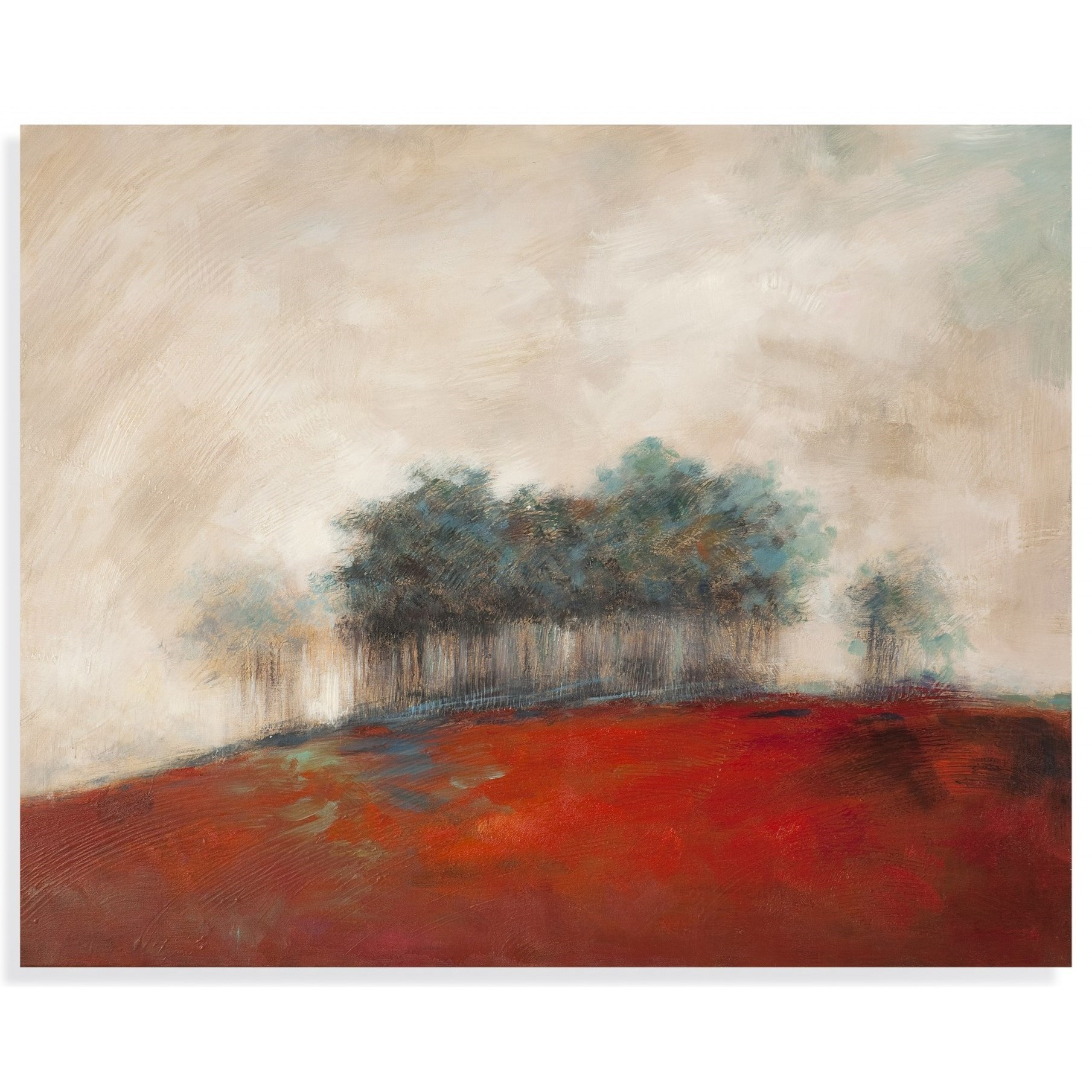 Thoroughly Modern Forest of Trees Canvas Wall Art by Bassett Mirror at Alison Craig Home Furnishings