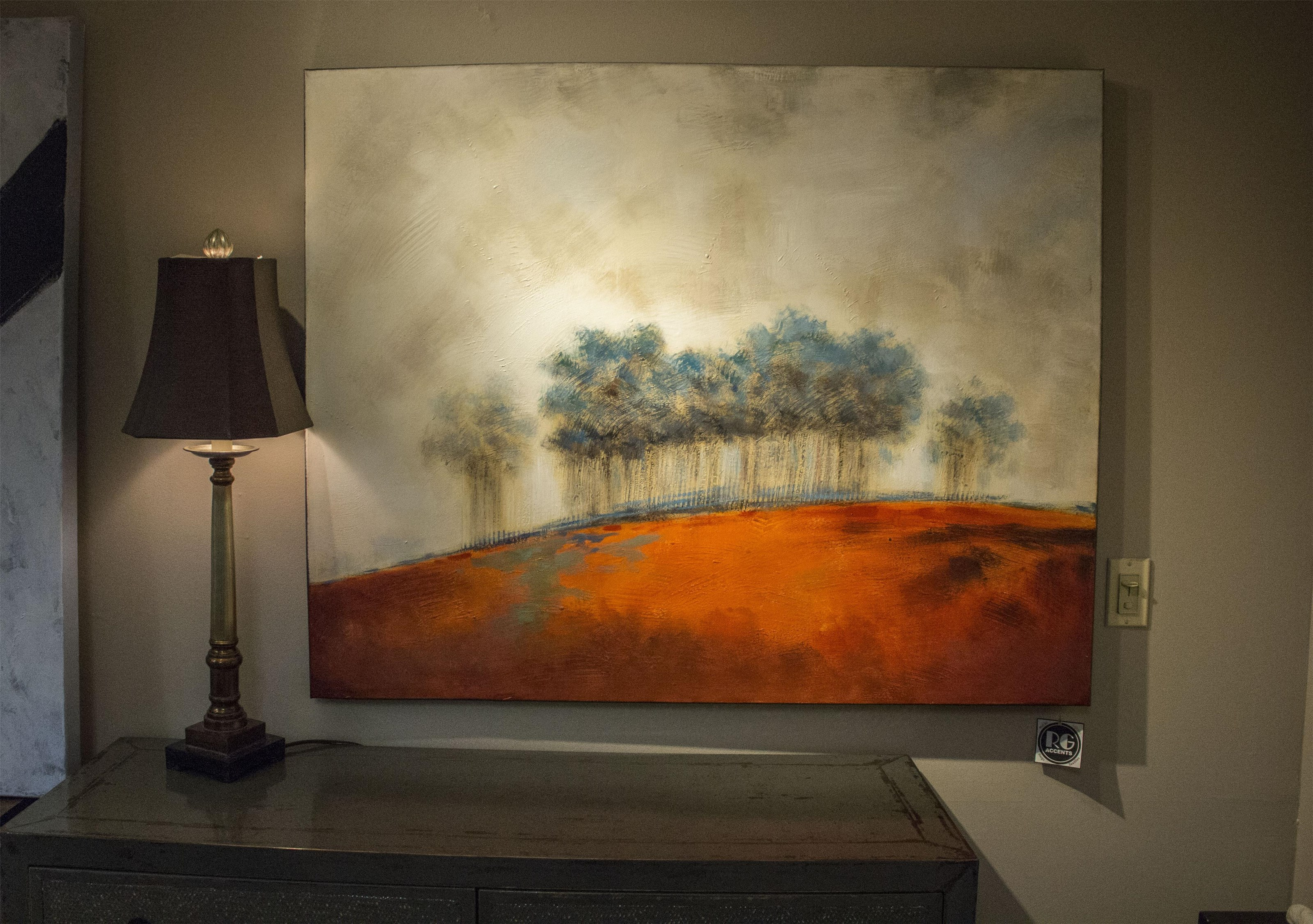 Thoroughly Modern Forest of Trees Canvas Wall Art at Ruby Gordon Home