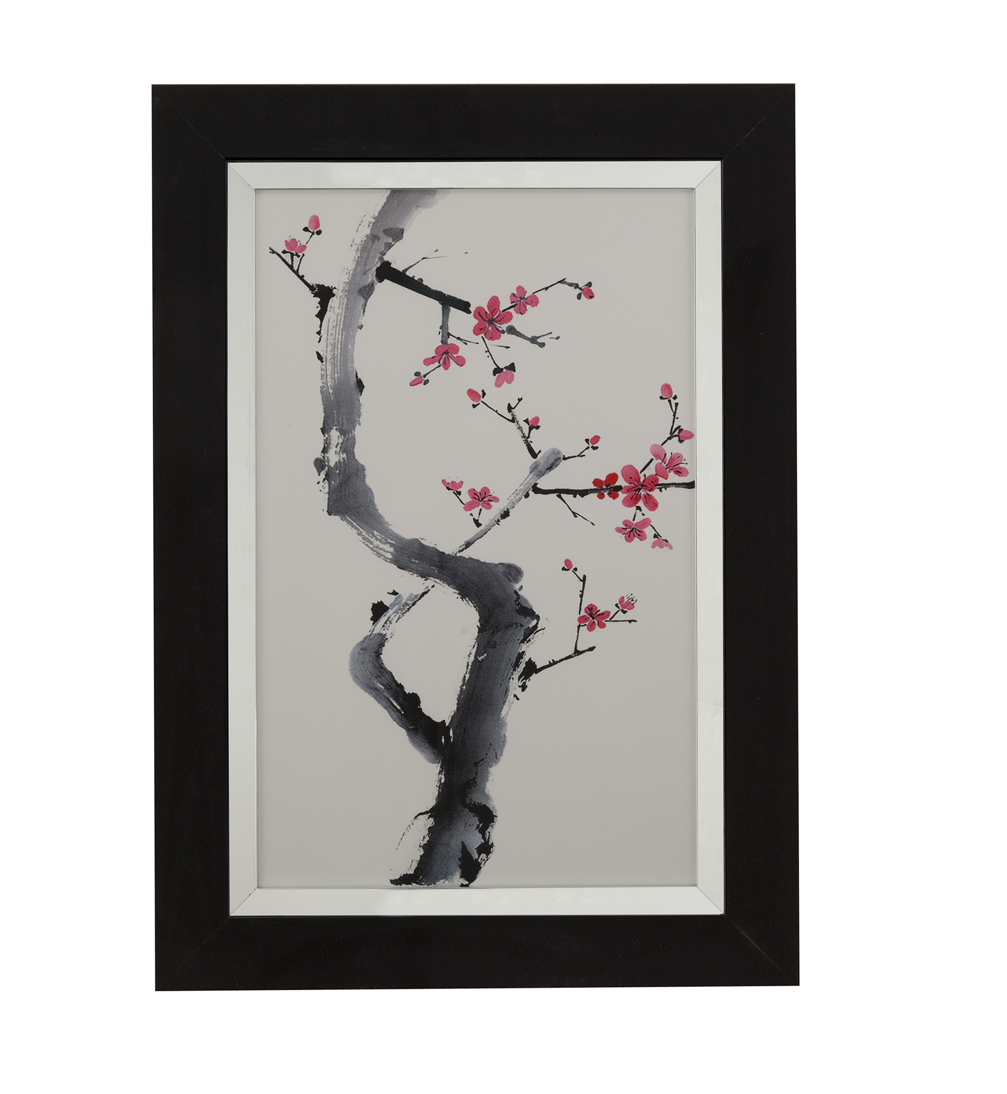 Thoroughly Modern Plum Blossom Branch I by Bassett Mirror at Story & Lee Furniture