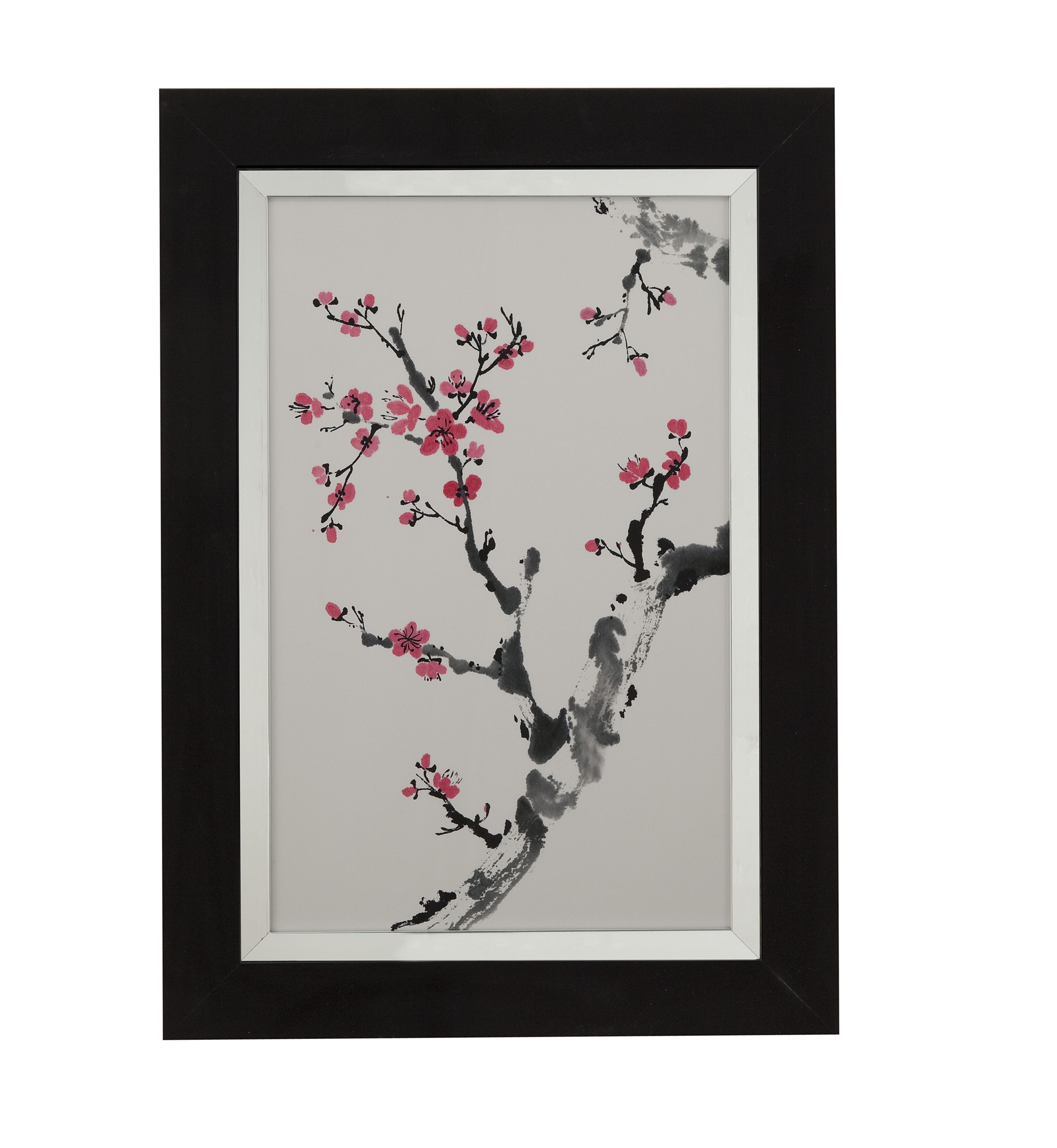 Thoroughly Modern Plum Blossom Branch II by Bassett Mirror at Alison Craig Home Furnishings