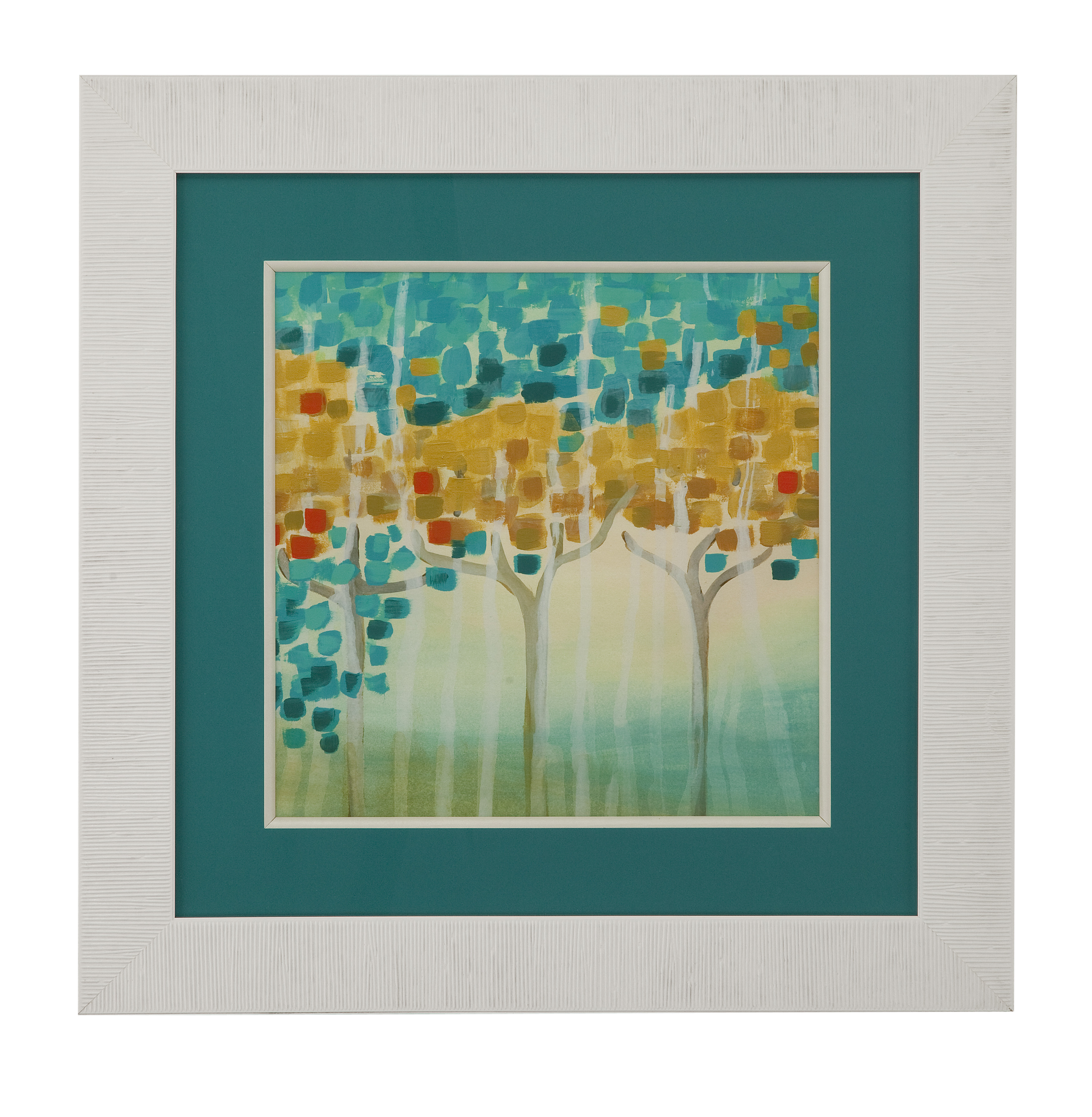 Thoroughly Modern Forest Mosaic I by Bassett Mirror at Alison Craig Home Furnishings