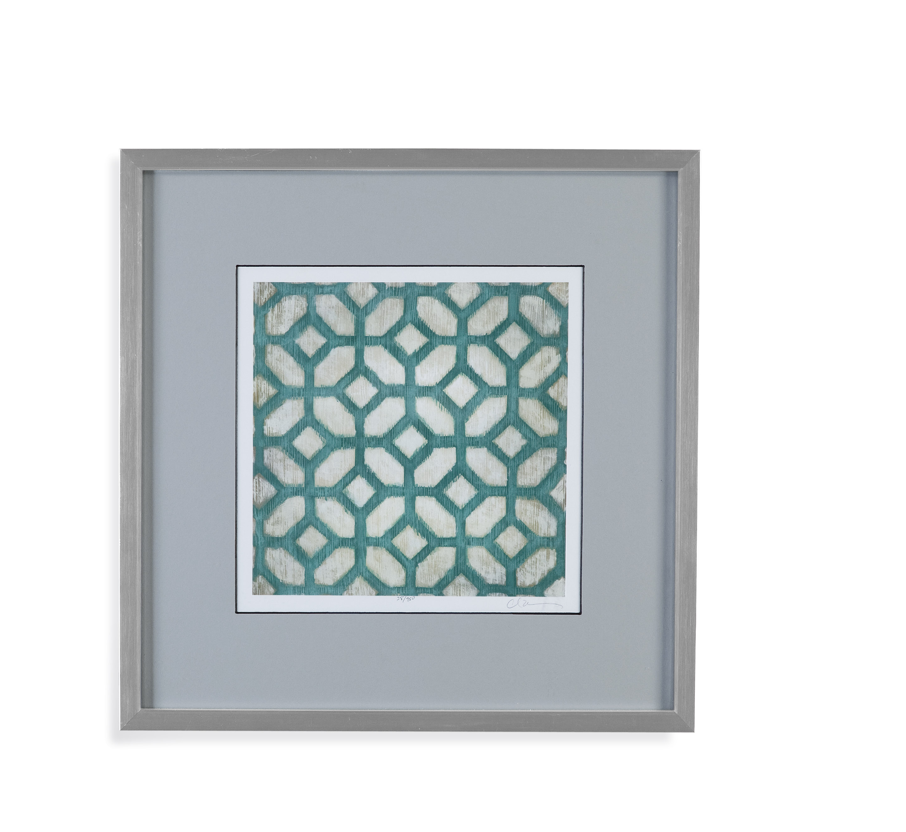 Thoroughly Modern Spectrum Symmetry IX by Bassett Mirror at Alison Craig Home Furnishings