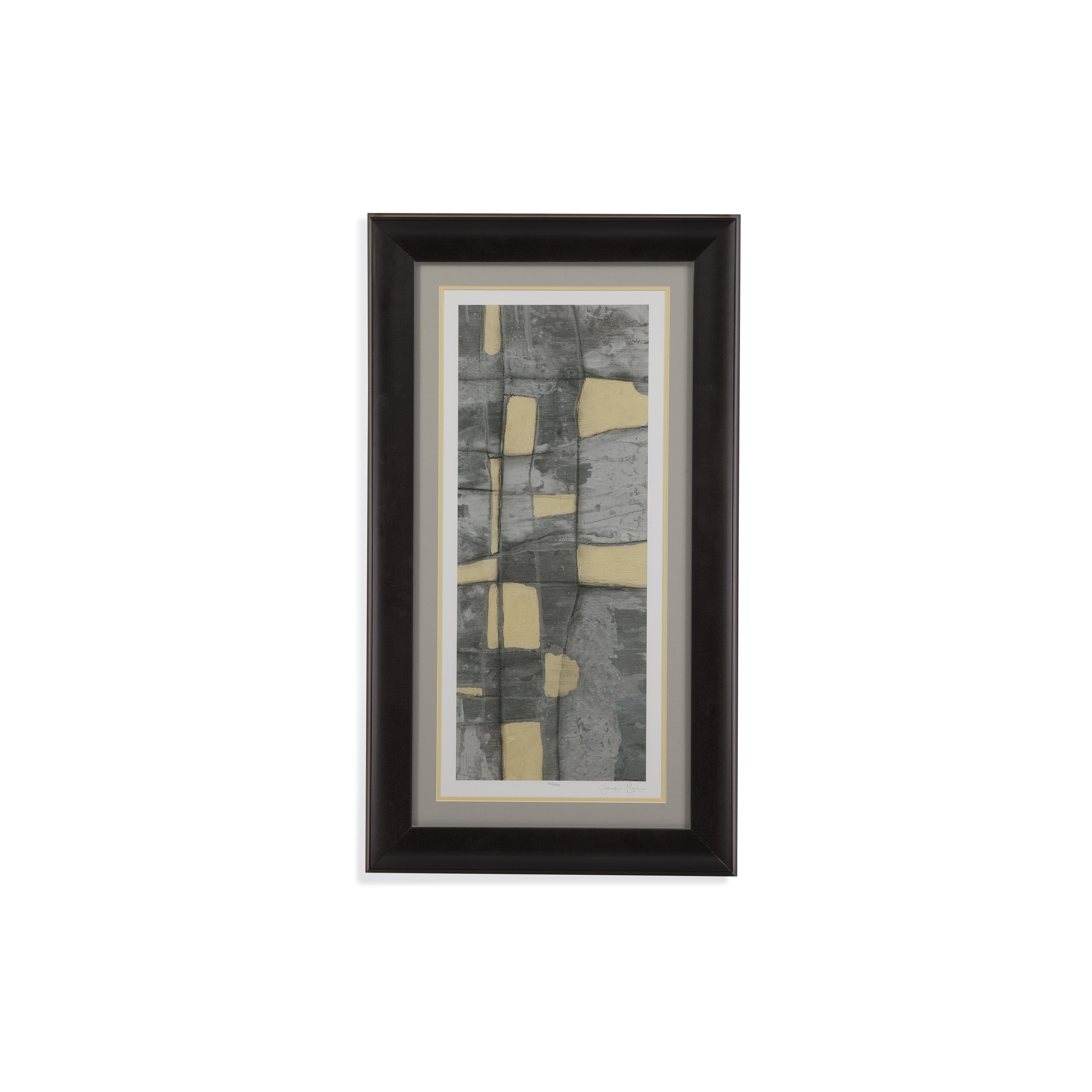 Thoroughly Modern Lemon on Grey II by Bassett Mirror at Story & Lee Furniture