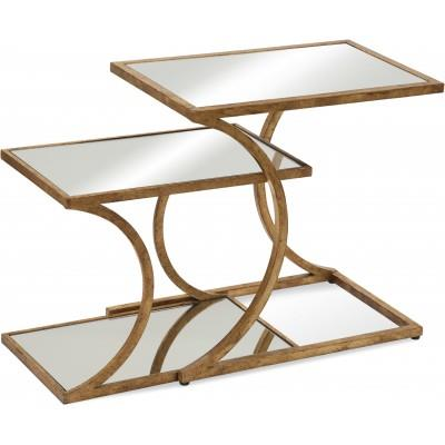 Thoroughly Modern Clement Nesting Accent Tables by Bassett Mirror at Alison Craig Home Furnishings