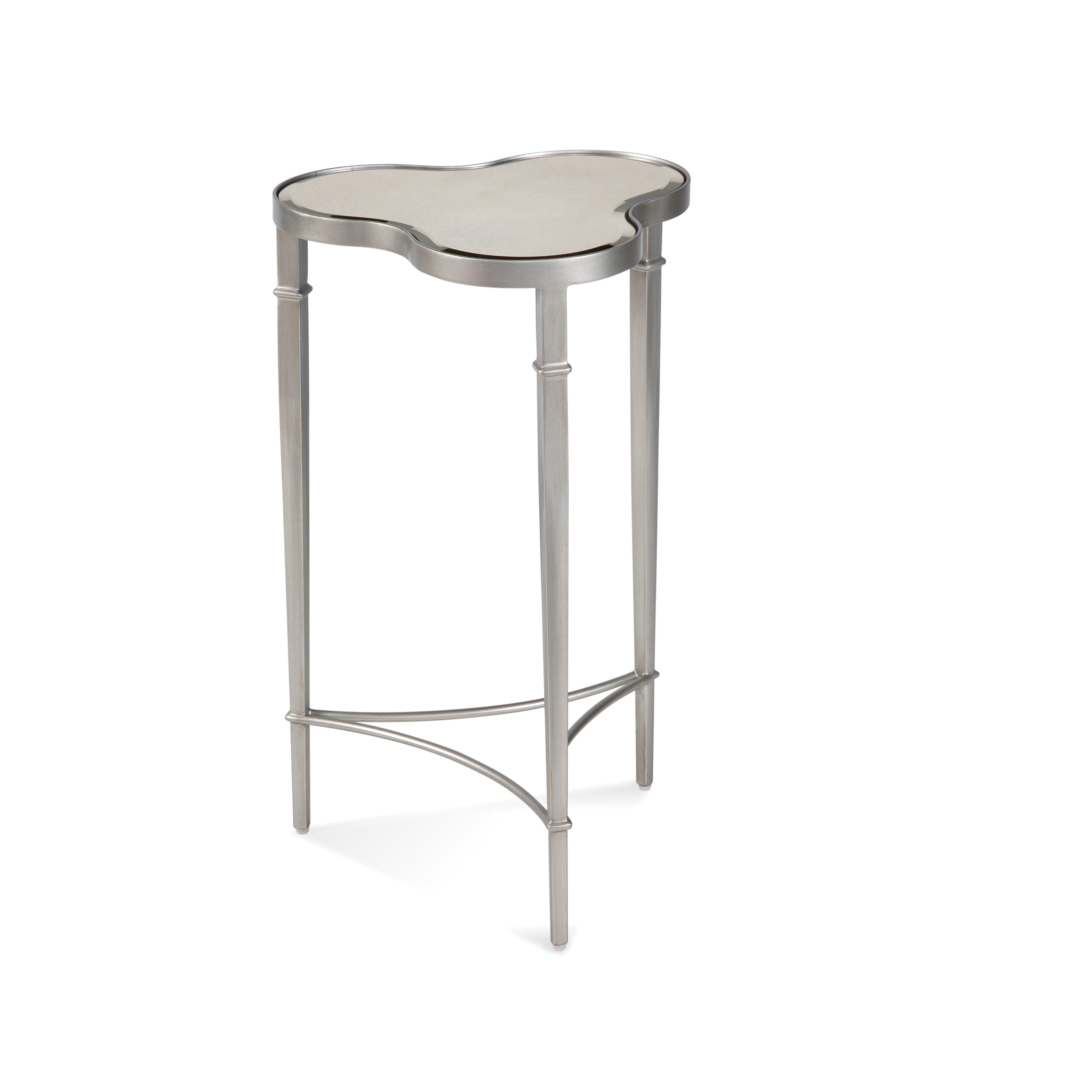 Thoroughly Modern Clover Scatter Table by Bassett Mirror at Alison Craig Home Furnishings