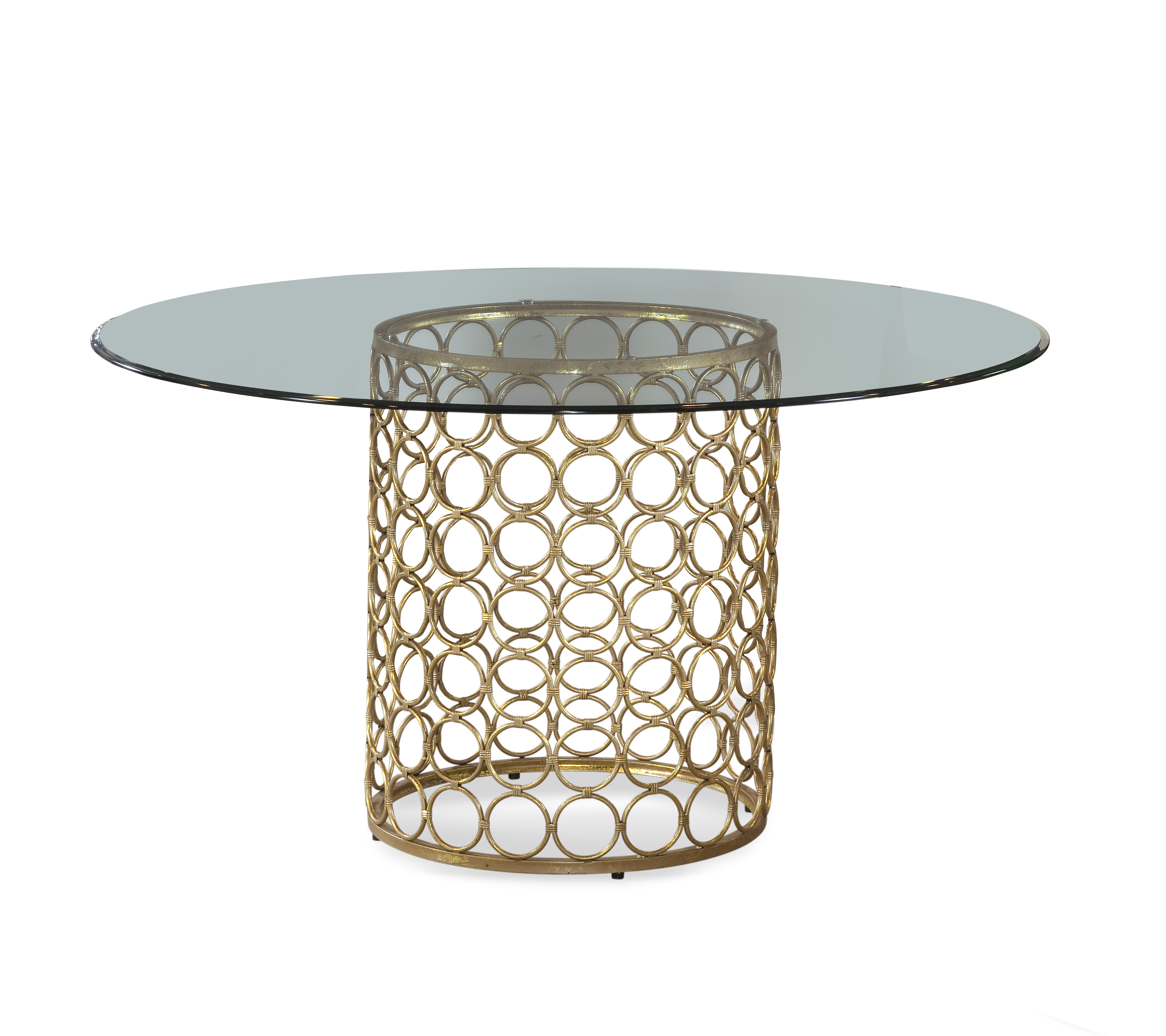 Thoroughly Modern Carnaby Dining Table by Bassett Mirror at Nassau Furniture and Mattress
