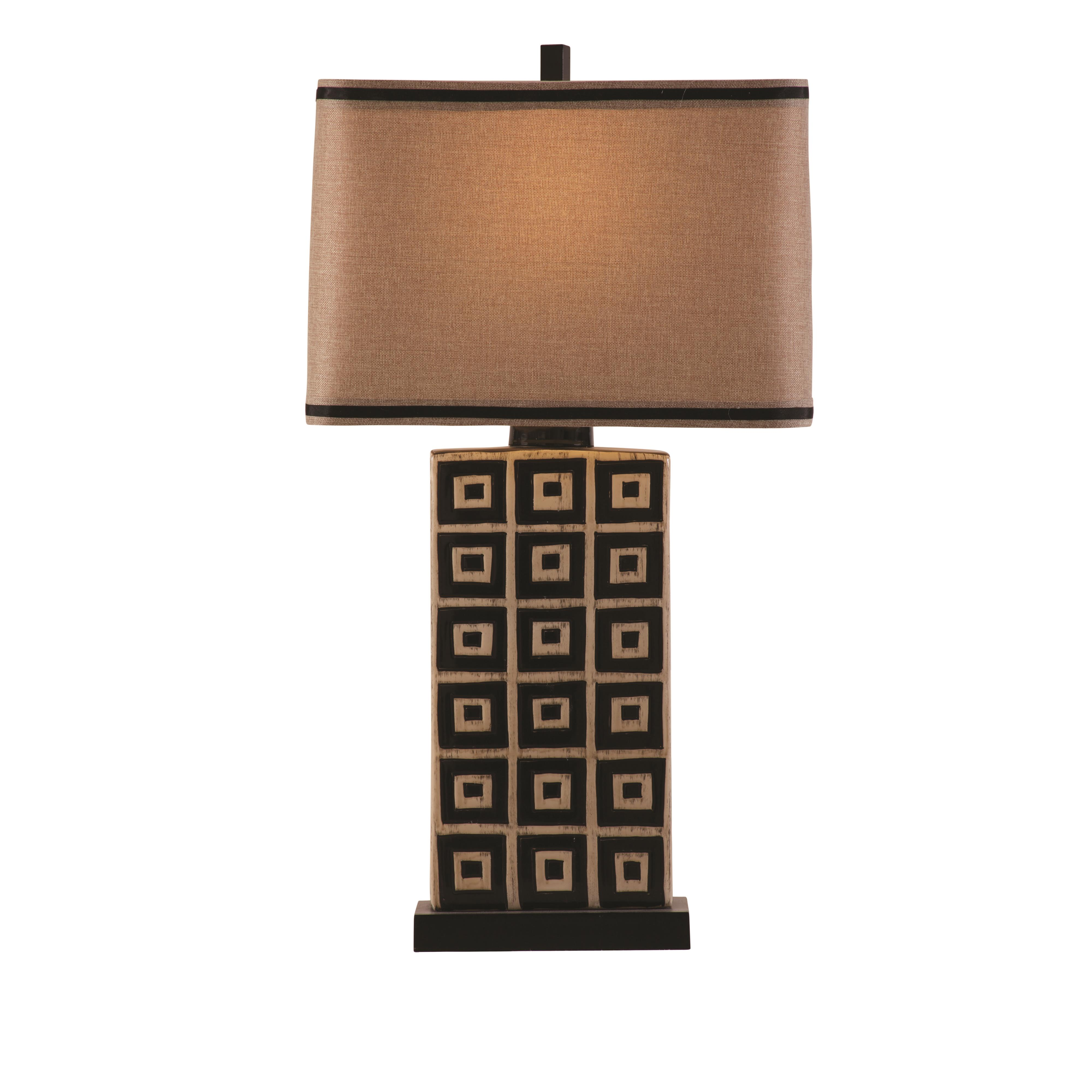 Thoroughly Modern Lakota Table Lamp by Bassett Mirror at Alison Craig Home Furnishings