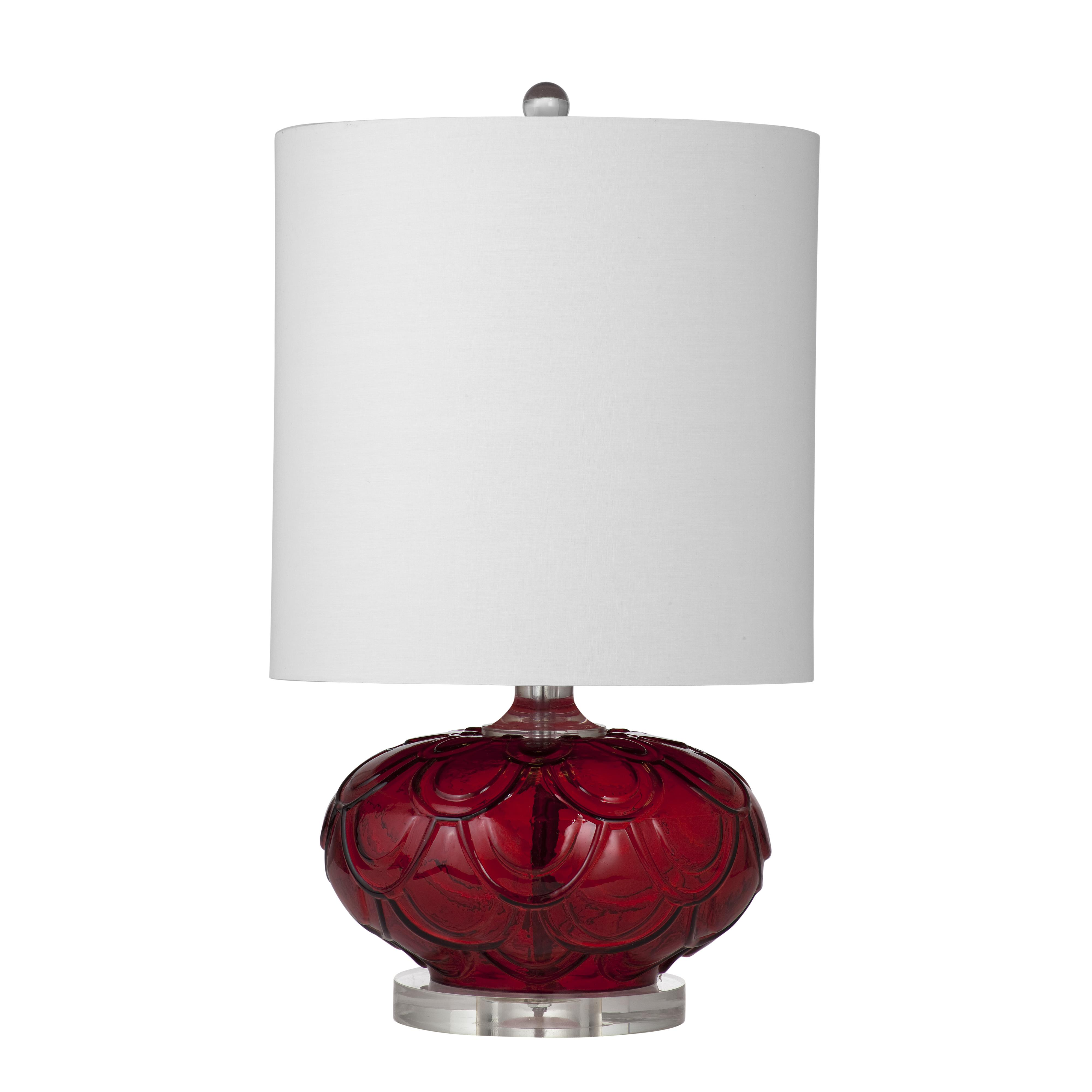 Thoroughly Modern Mia Table Lamp by Bassett Mirror at Alison Craig Home Furnishings