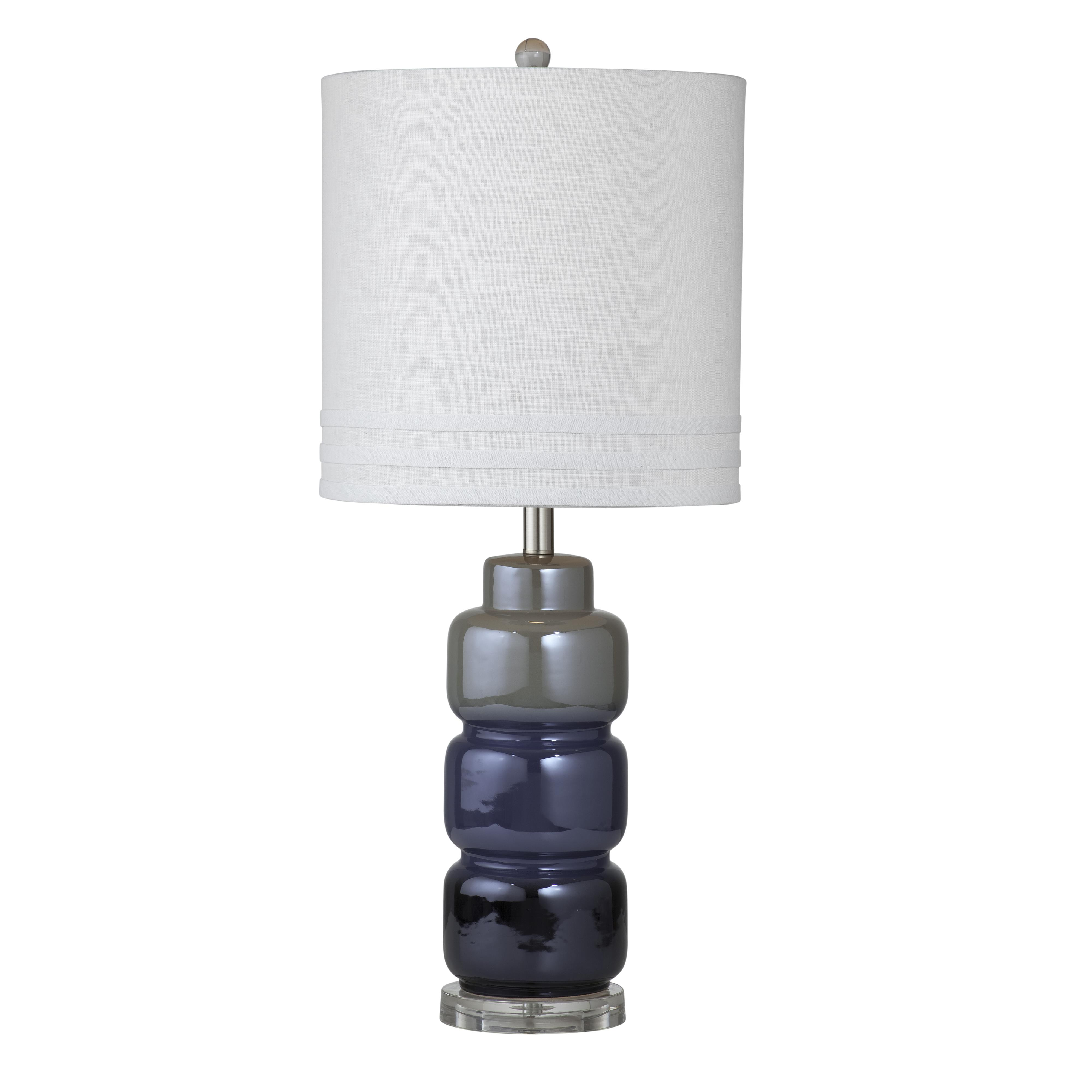 Thoroughly Modern Medina Table Lamp by Bassett Mirror at Alison Craig Home Furnishings