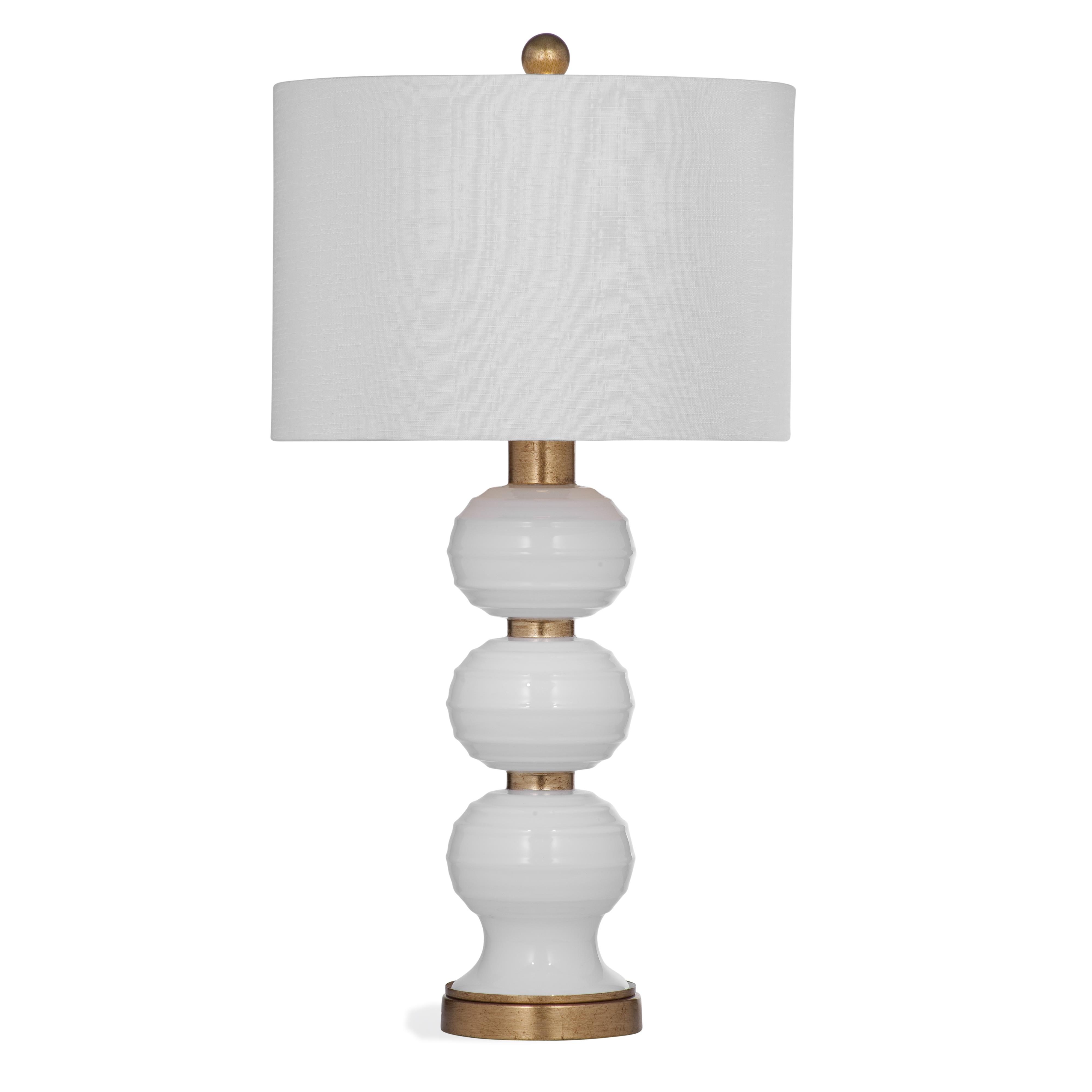 Thoroughly Modern Willa Table Lamp by Bassett Mirror at Alison Craig Home Furnishings