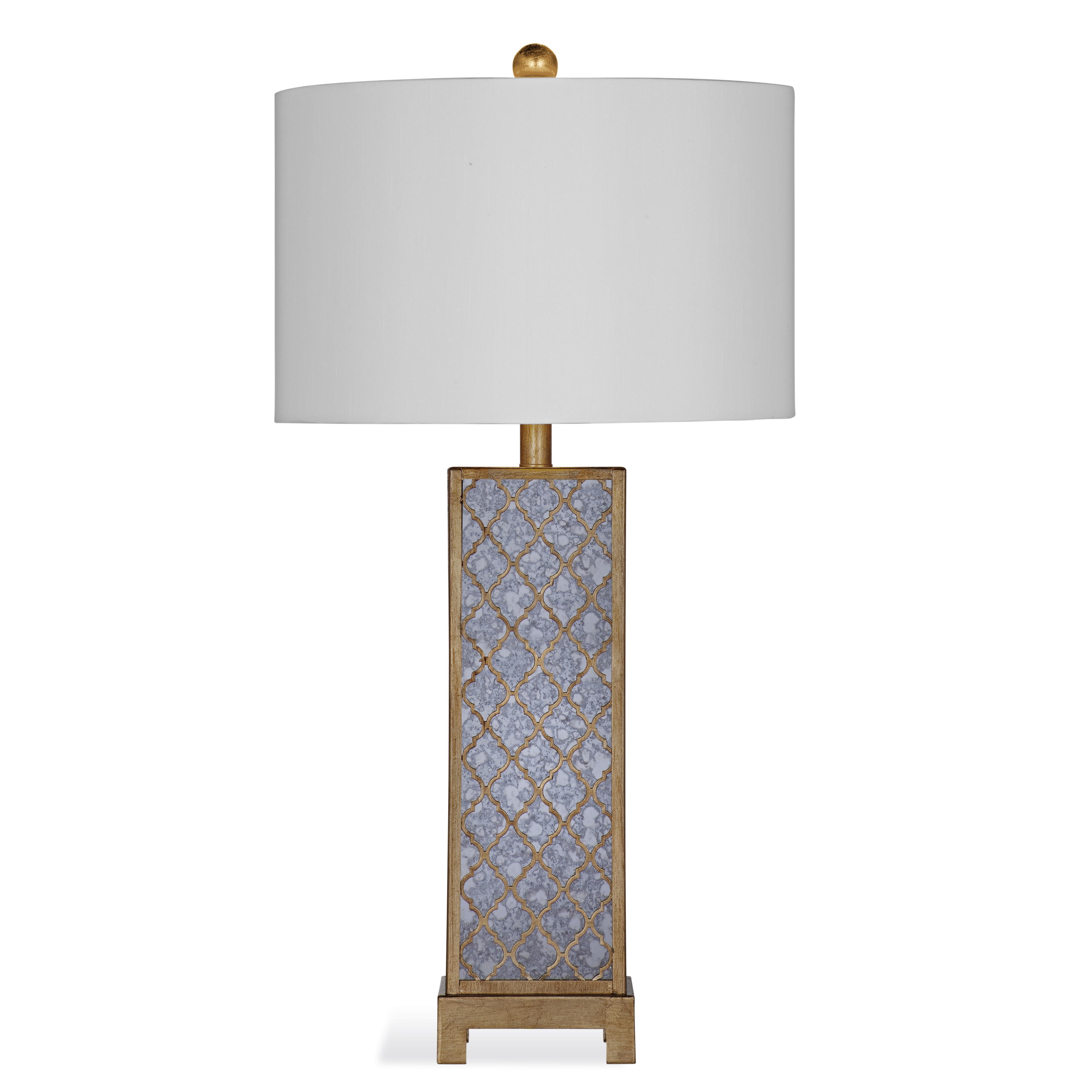 Thoroughly Modern Baskin Table Lamp by Bassett Mirror at Alison Craig Home Furnishings