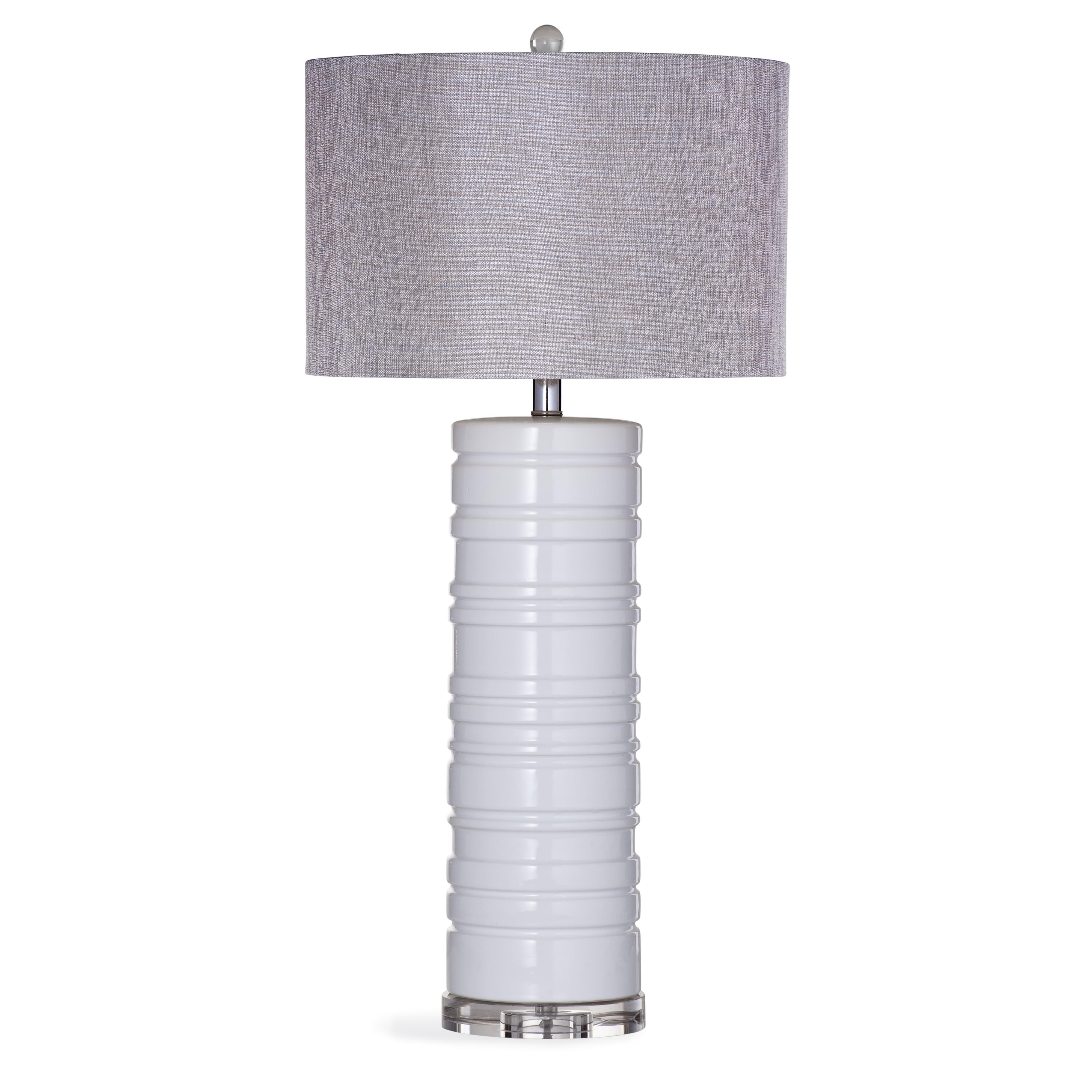 Thoroughly Modern Seneca Table Lamp by Bassett Mirror at Alison Craig Home Furnishings