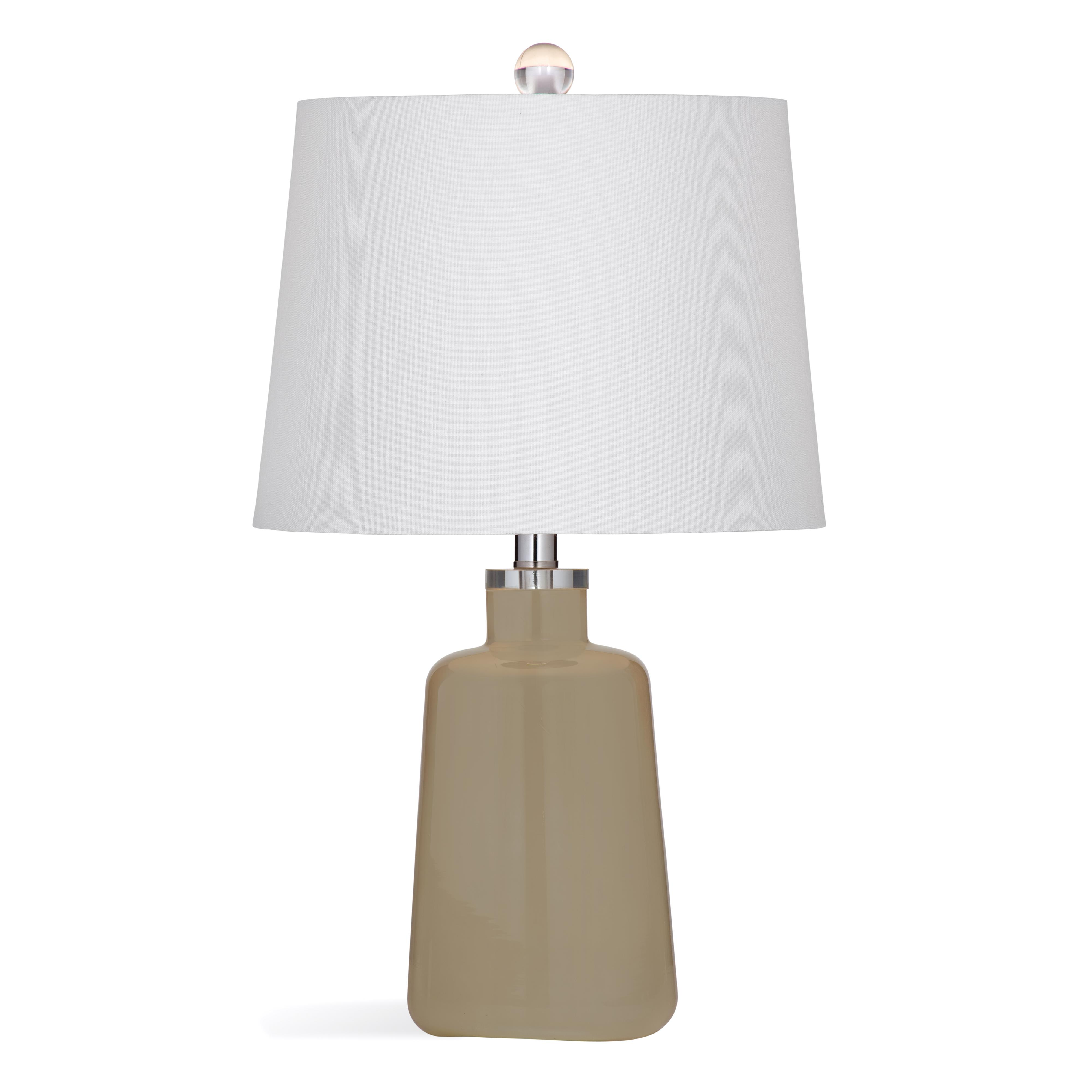 Thoroughly Modern Lacey Table Lamp by Bassett Mirror at Alison Craig Home Furnishings