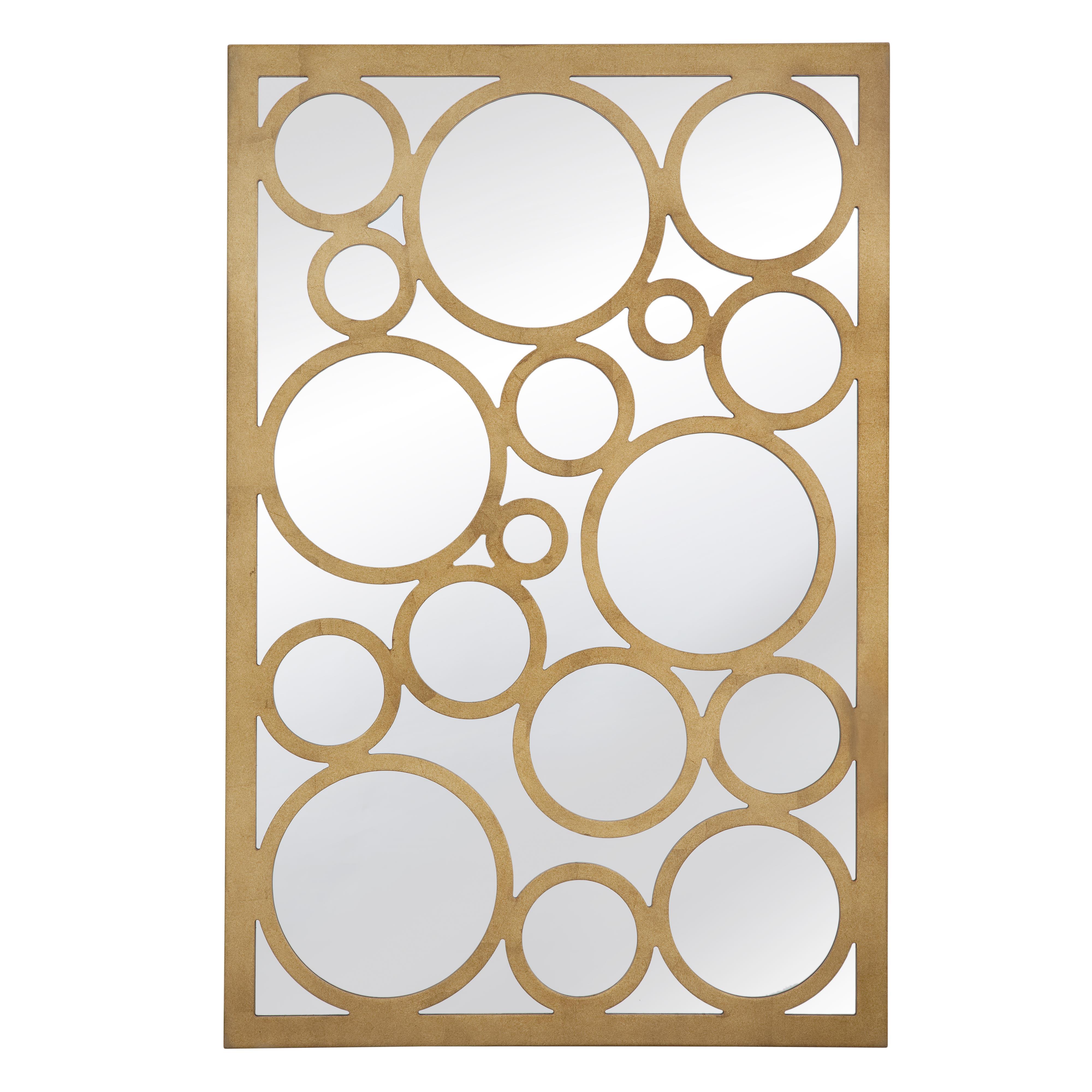 Thoroughly Modern Brandon Wall Mirror by Bassett Mirror at Alison Craig Home Furnishings