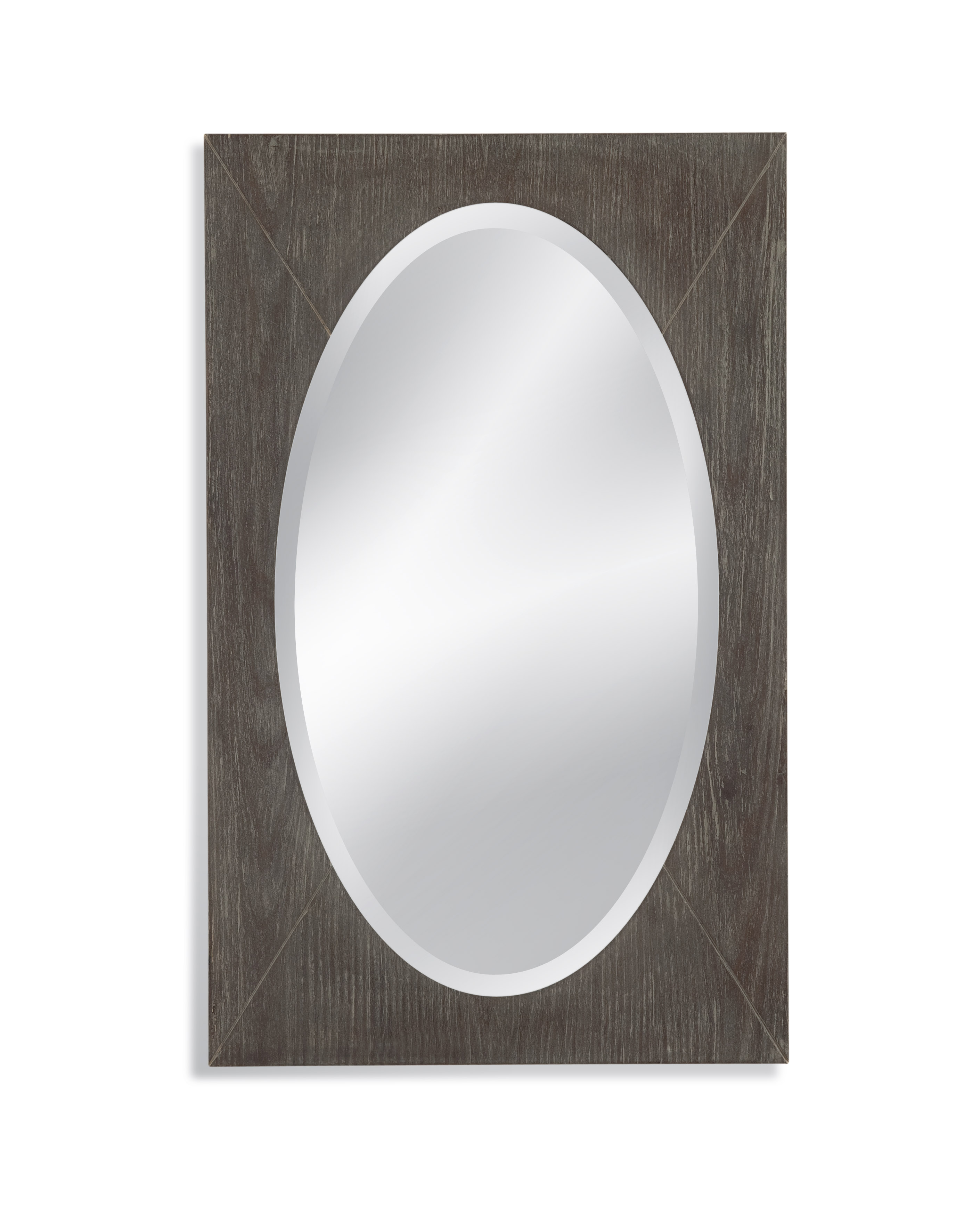 Thoroughly Modern Shelby Wall Mirror by Bassett Mirror at Alison Craig Home Furnishings