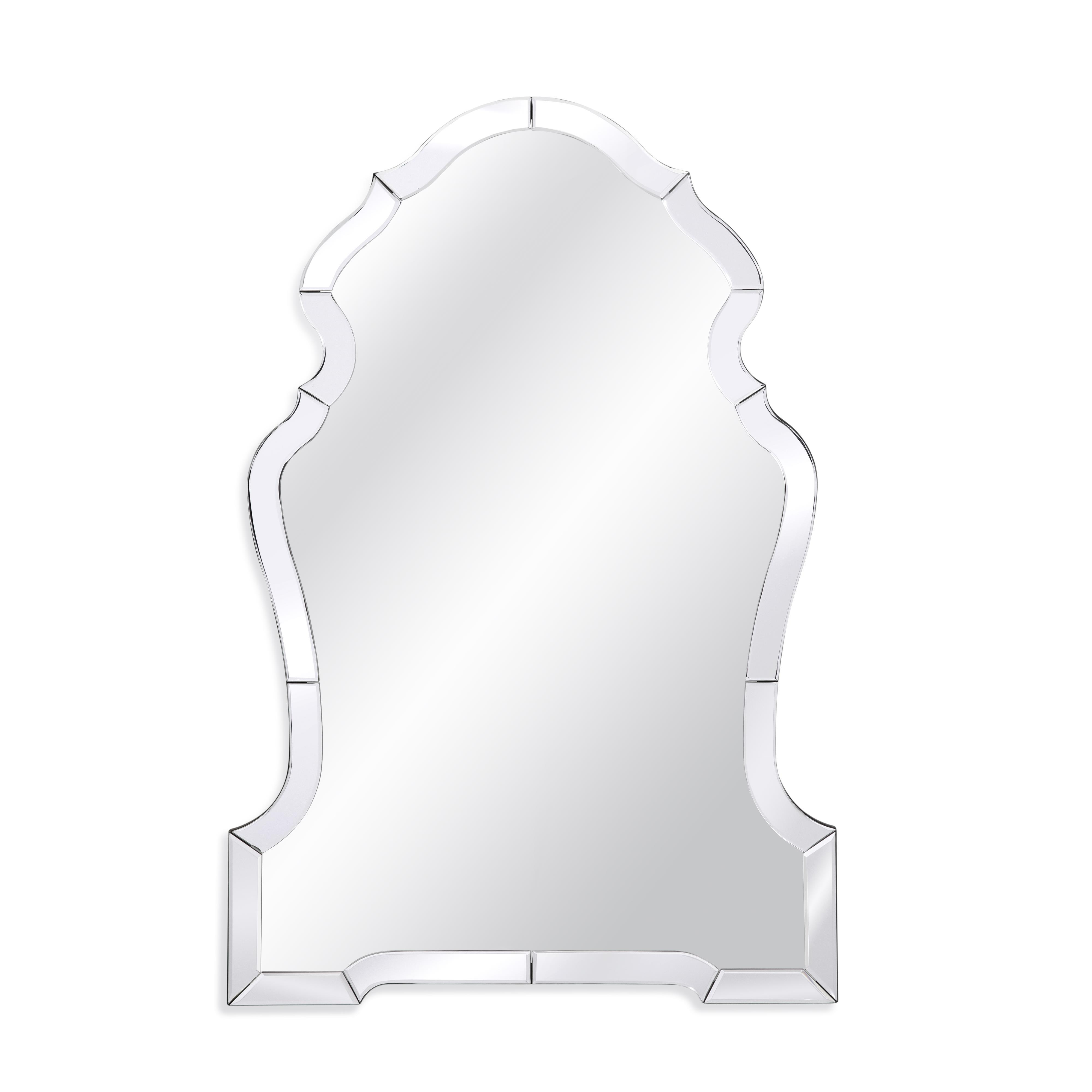 Thoroughly Modern Kyla Wall Mirror by Bassett Mirror at Alison Craig Home Furnishings