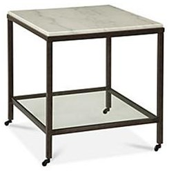 Whitman End Table by Bassett Mirror at Darvin Furniture