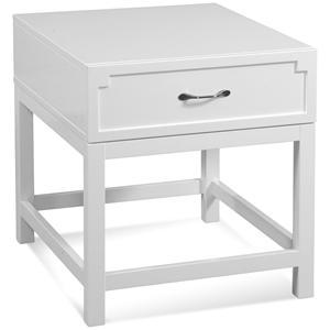 Rectangular End Table w/ Drawer