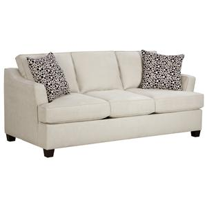 Contemporary Sofa with Clean Fresh Look