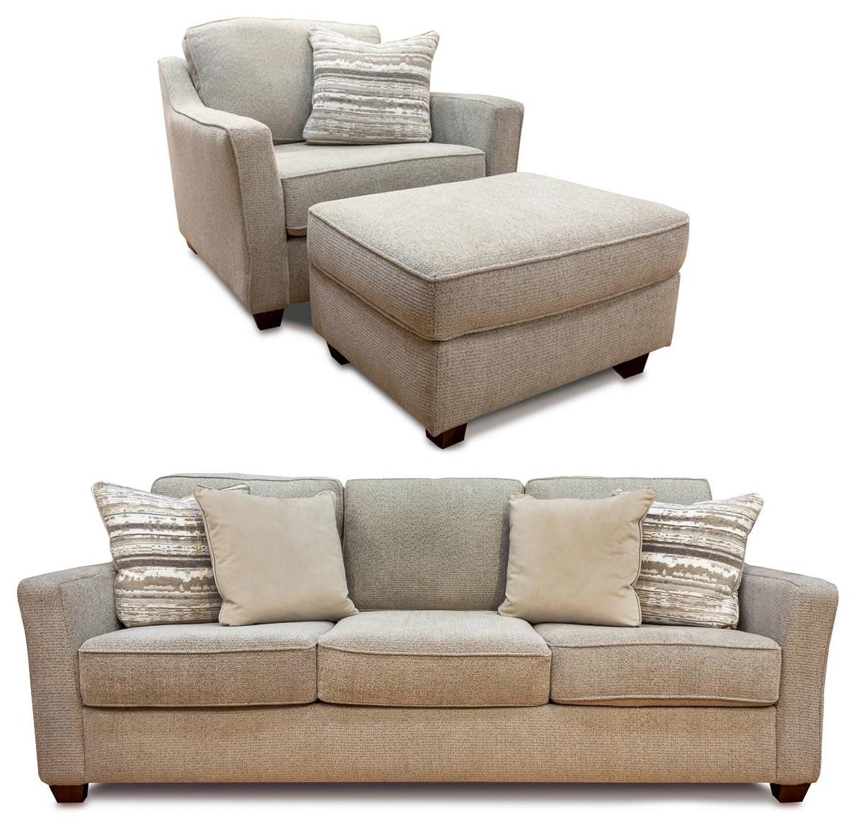 Tiffany 3PC Sofa, Chair & Ottoman Set at Rotmans
