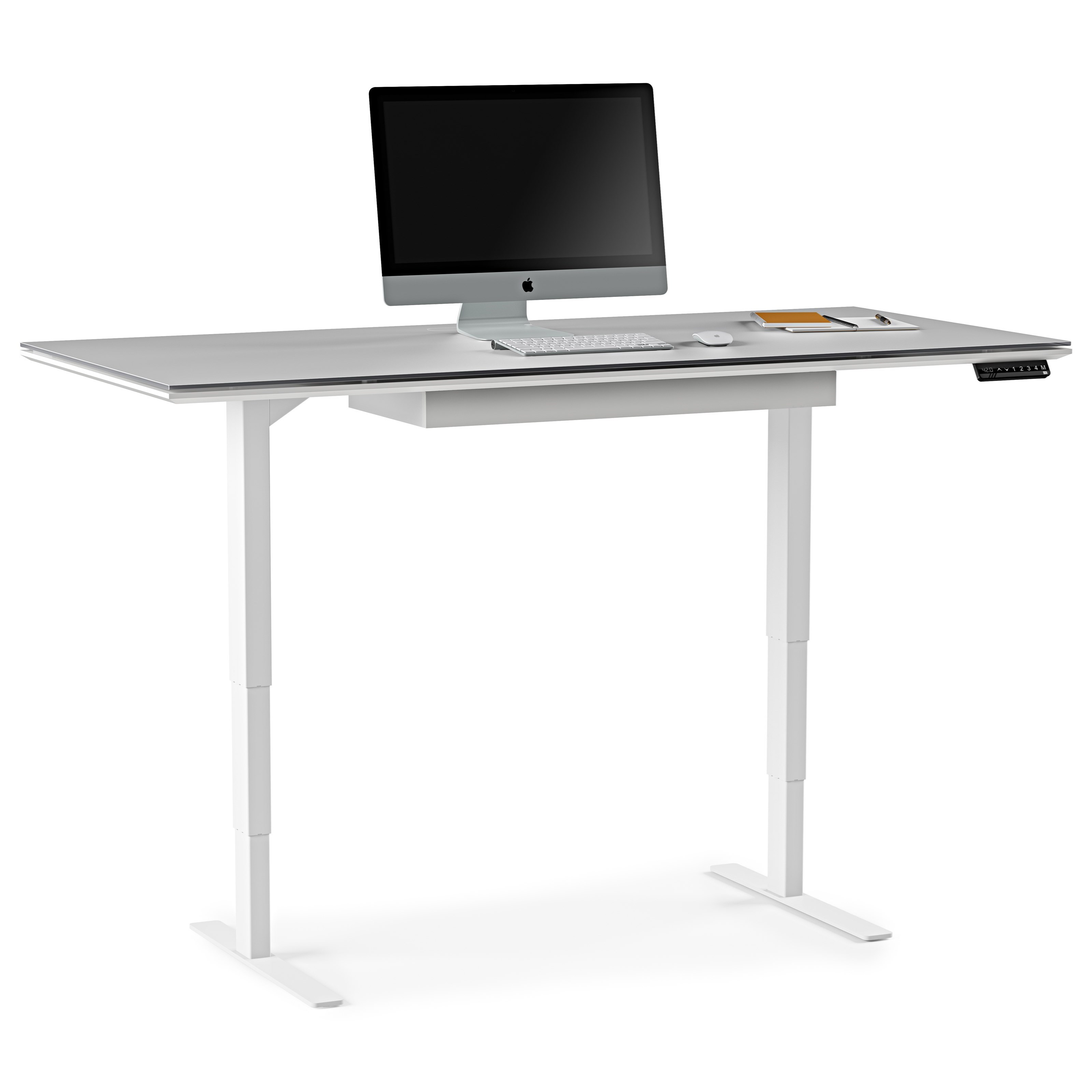 Centro Lift Standing Desk with Storage Drawer by BDI at Upper Room Home Furnishings