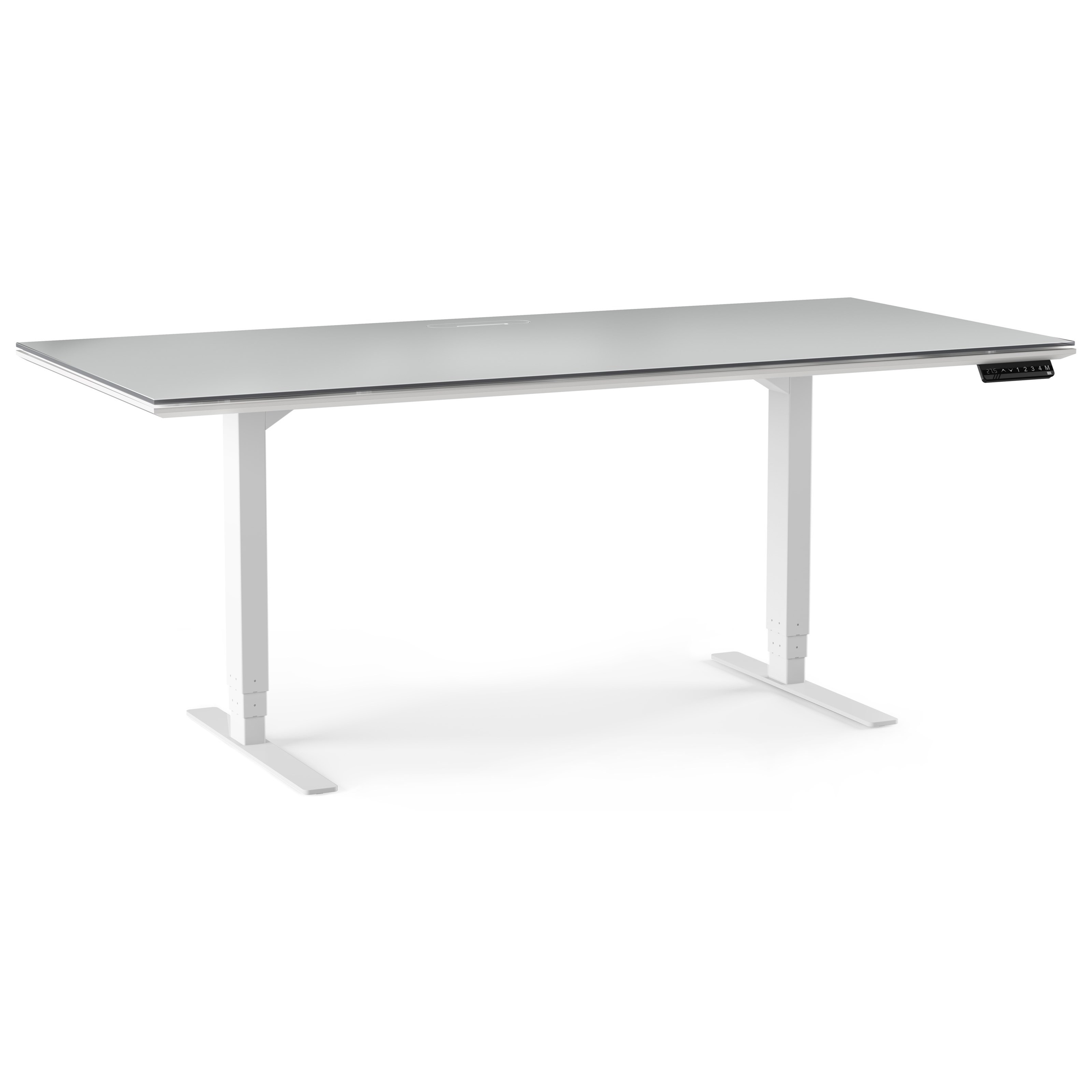 Centro Lift Standing Desk by BDI at Upper Room Home Furnishings