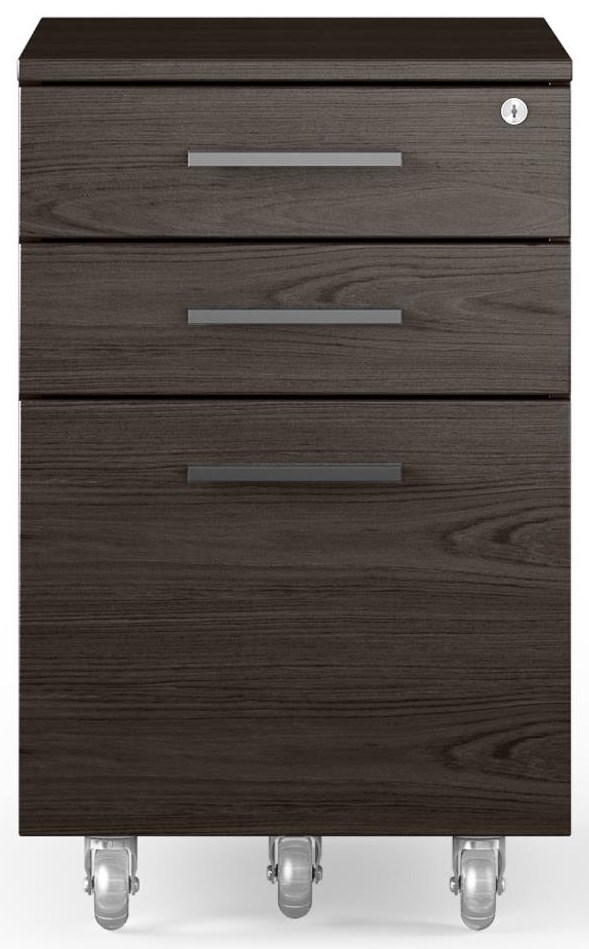 Sequel 20 Mobile File Cabinet by BDI at Belfort Furniture