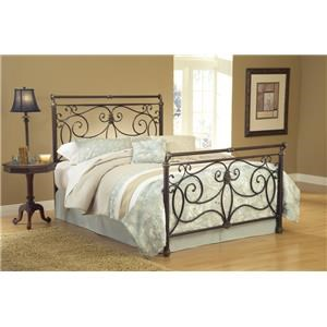 Queen Metal Bed including Bed Frame