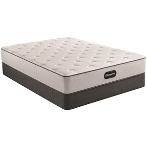 "Twin 12"" Medium Pocketed Coil Mattress and 9"" Steel Foundation"