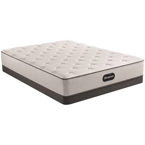 """Twin 12"""" Medium Pocketed Coil Mattress and 6"""" Low Profile Steel Foundation"""