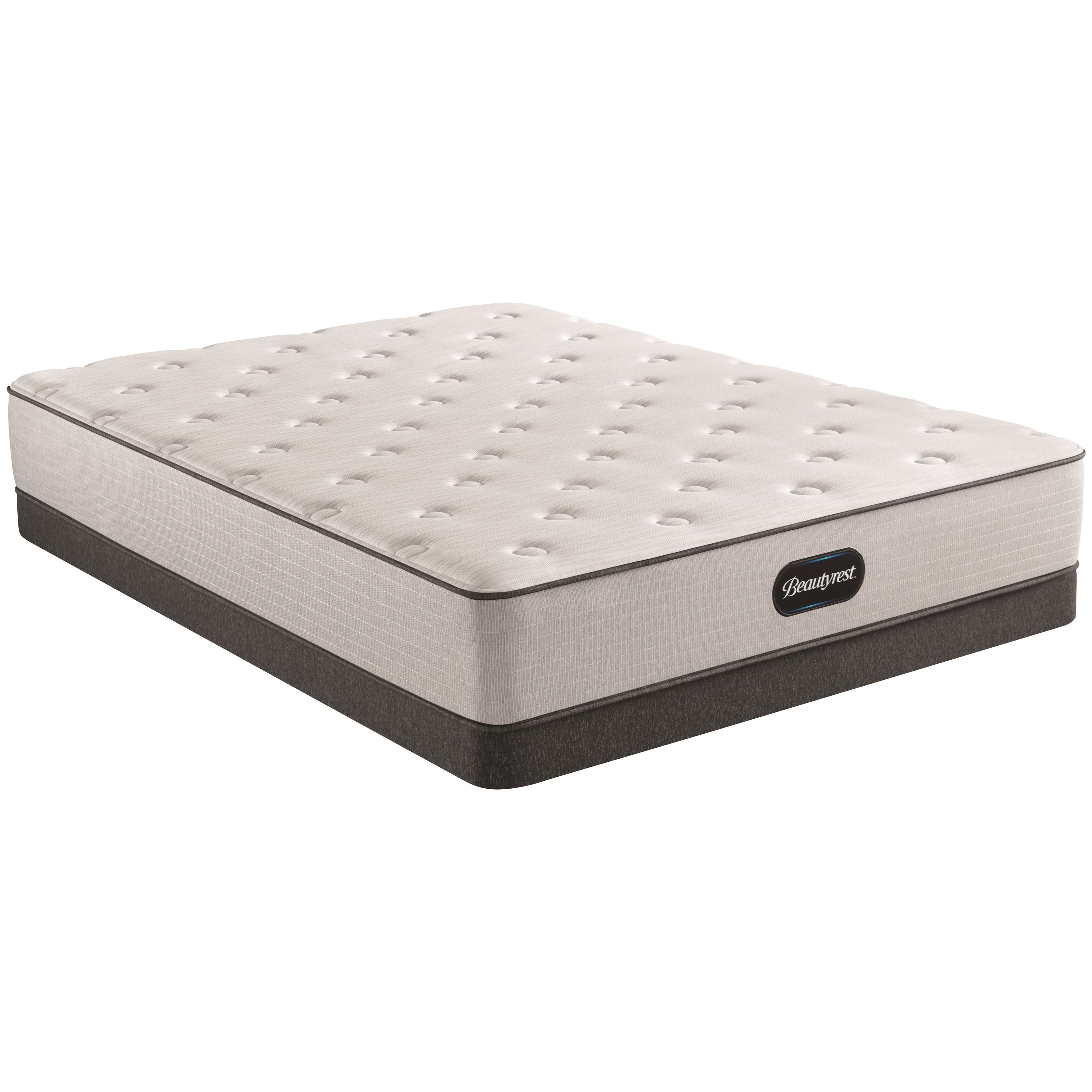 """BR8000 Plush Full 12"""" Plush Pocketed Coil LP Set by Beautyrest at Houston's Yuma Furniture"""