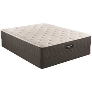 "Queen 11 3/4"" Medium Firm Pocketed Coil Mattress and 9"" Steel Foundation"