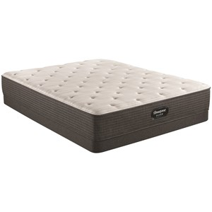 "Queen 11 3/4"" Medium Firm Pocketed Coil Mattress and 6"" Low Profile Steel Foundation"