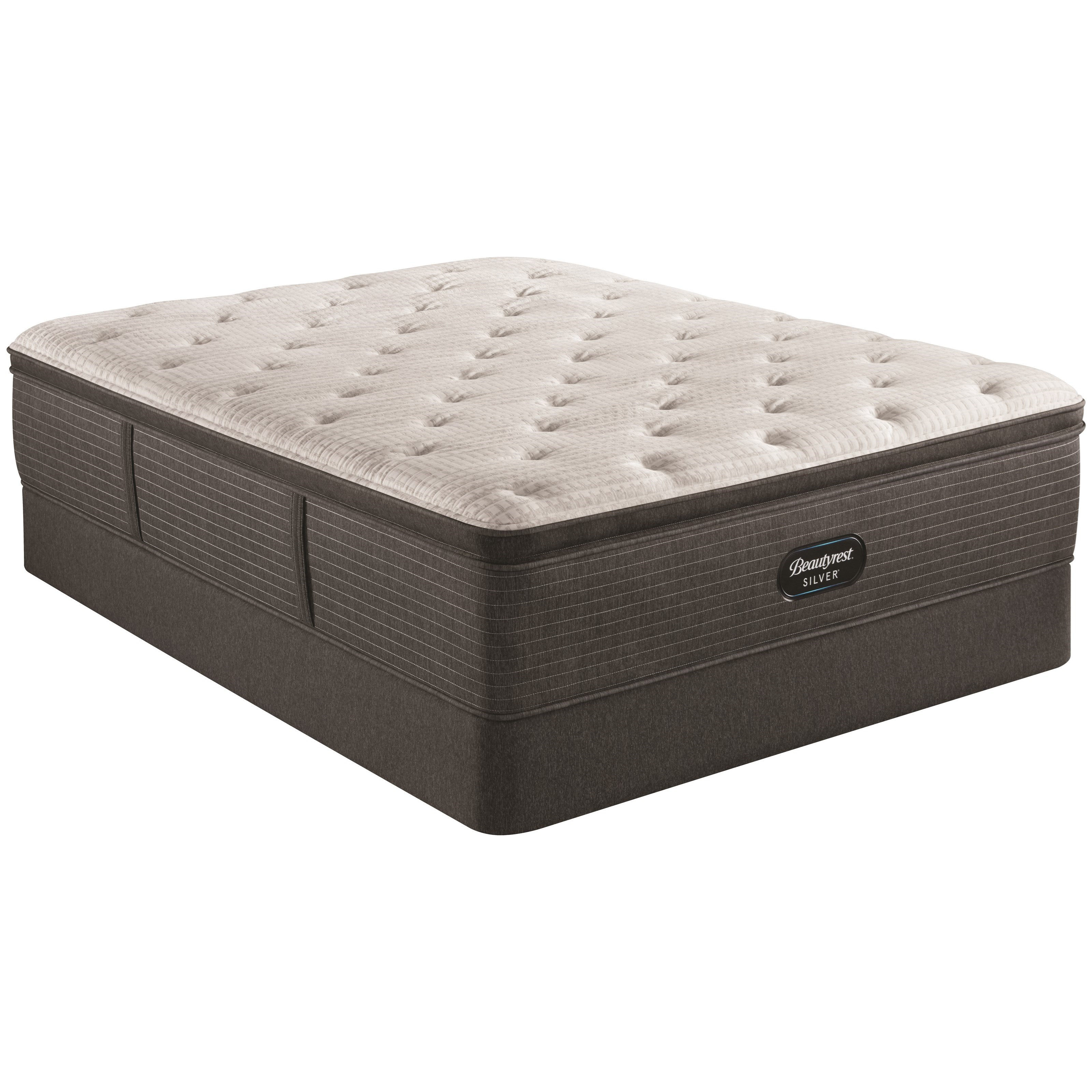 """Cool Touch Bold Plush PT Twin 16"""" Pocketed Coil Mattress Set by Beautyrest at Becker Furniture"""
