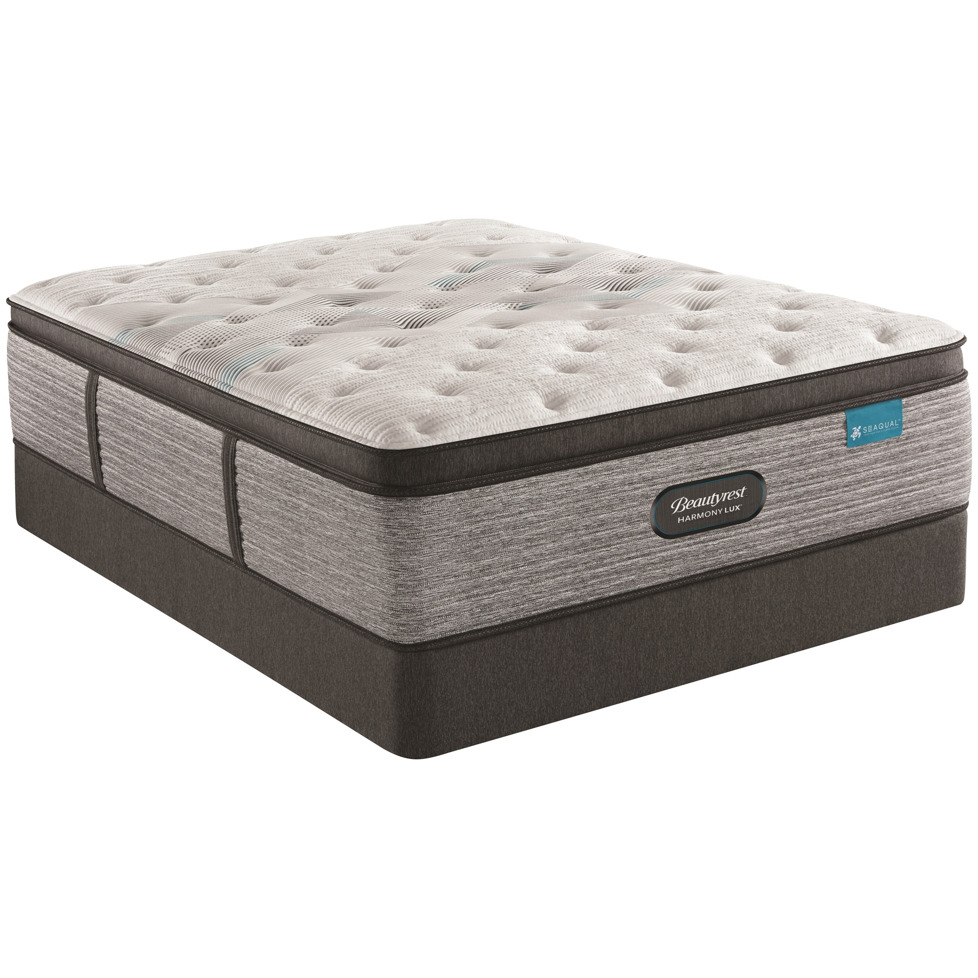 "Carbon Series Medium PT Twin 15 3/4"" Medium PT Mattress Set by Beautyrest at Johnny Janosik"
