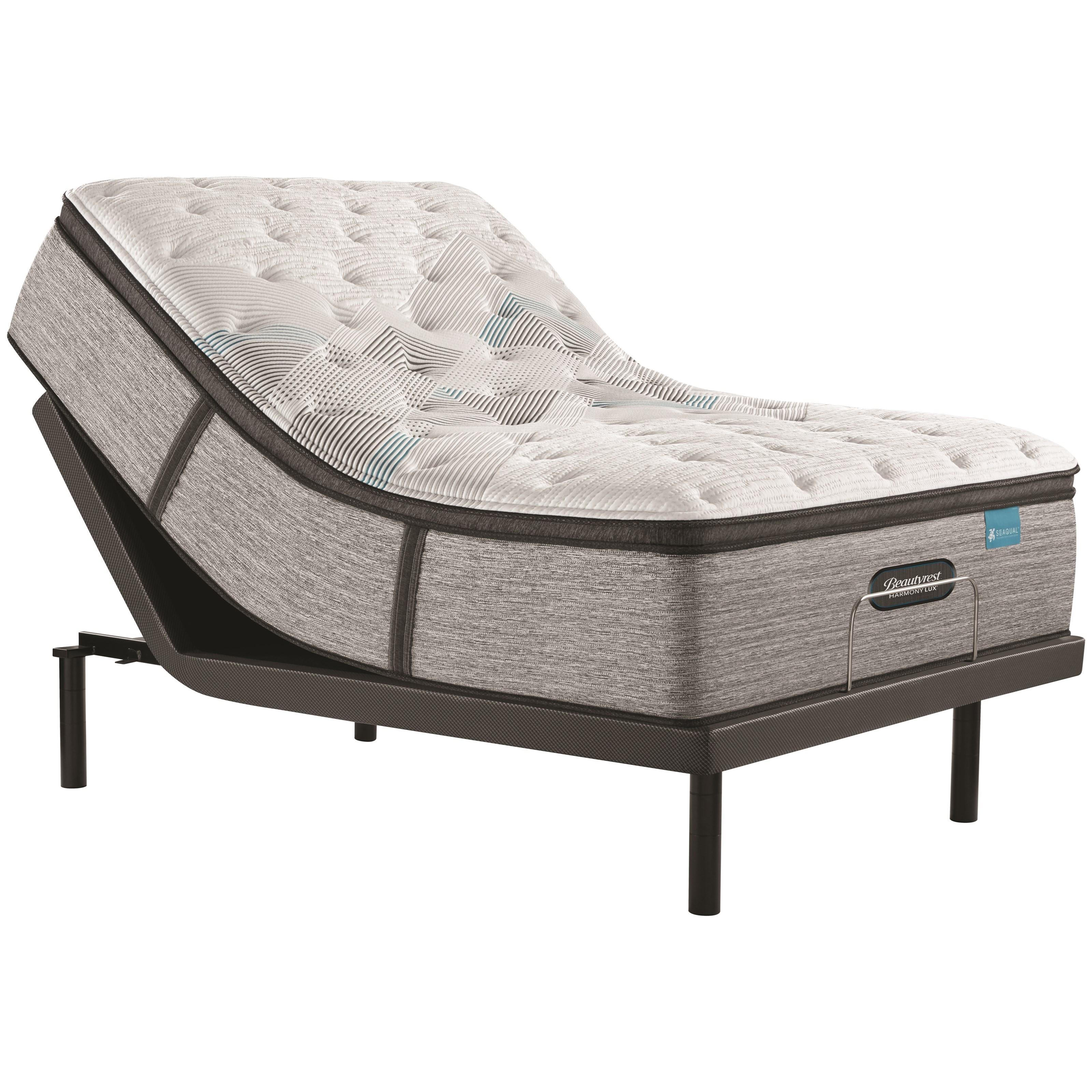 "Carbon Series Medium PT Twin XL 15 3/4"" Medium PT Adj Set by Beautyrest at Furniture and ApplianceMart"