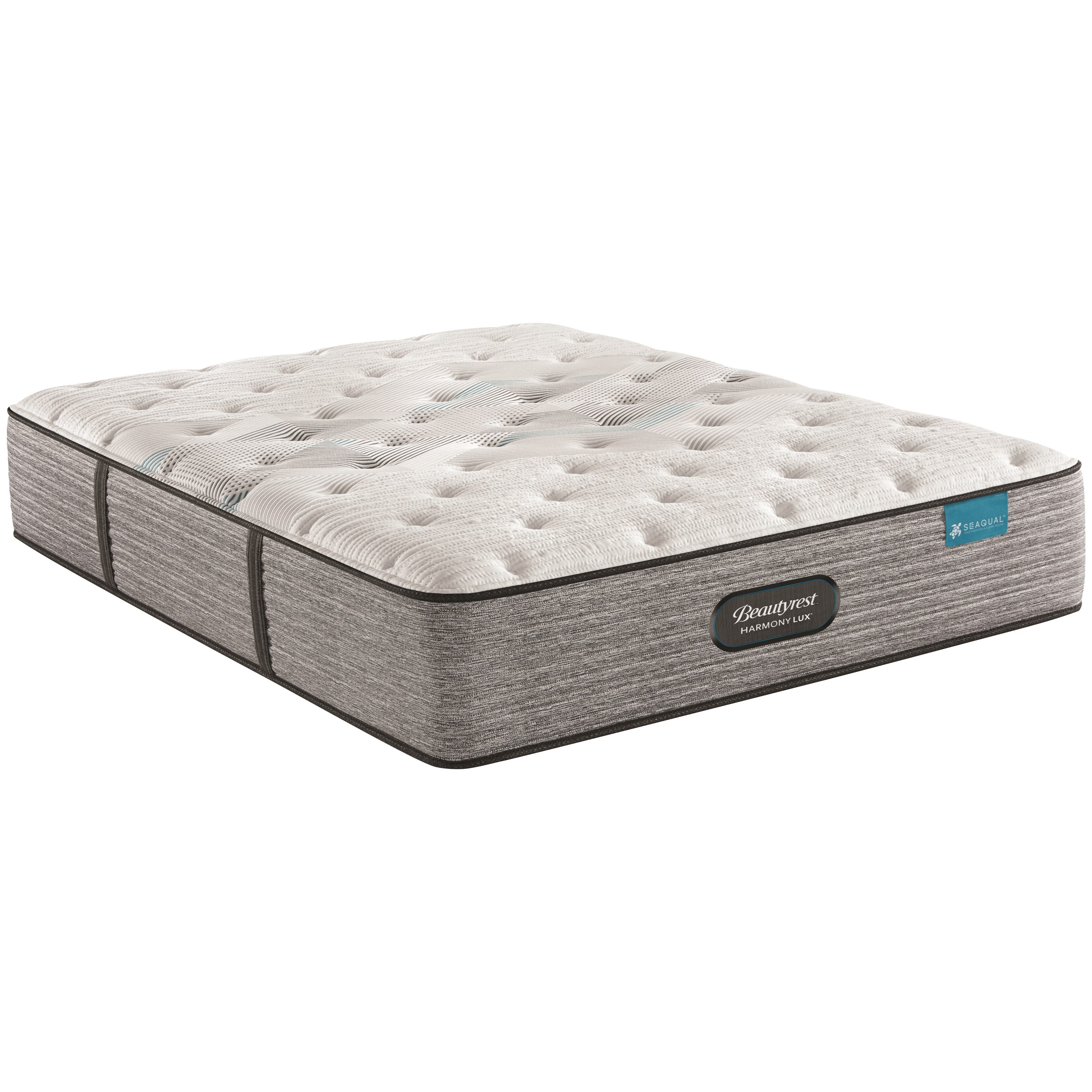 "Carbon Series Medium Queen 13 3/4"" Medium Firm Mattress by Beautyrest at Rotmans"