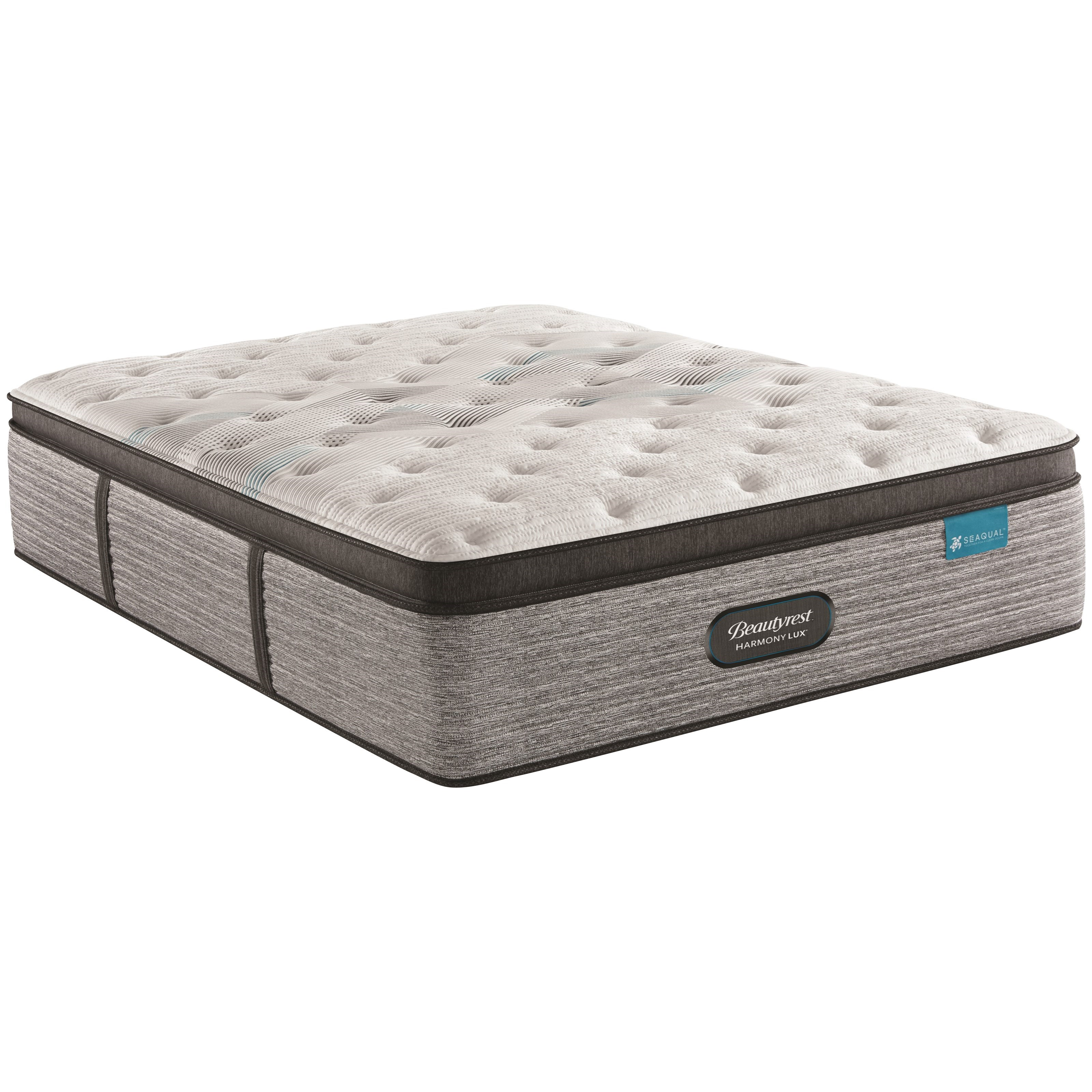 "Carbon Series Plush PT Cal King 15 3/4"" Plush Pillow Top Mattress by Beautyrest at Novello Home Furnishings"