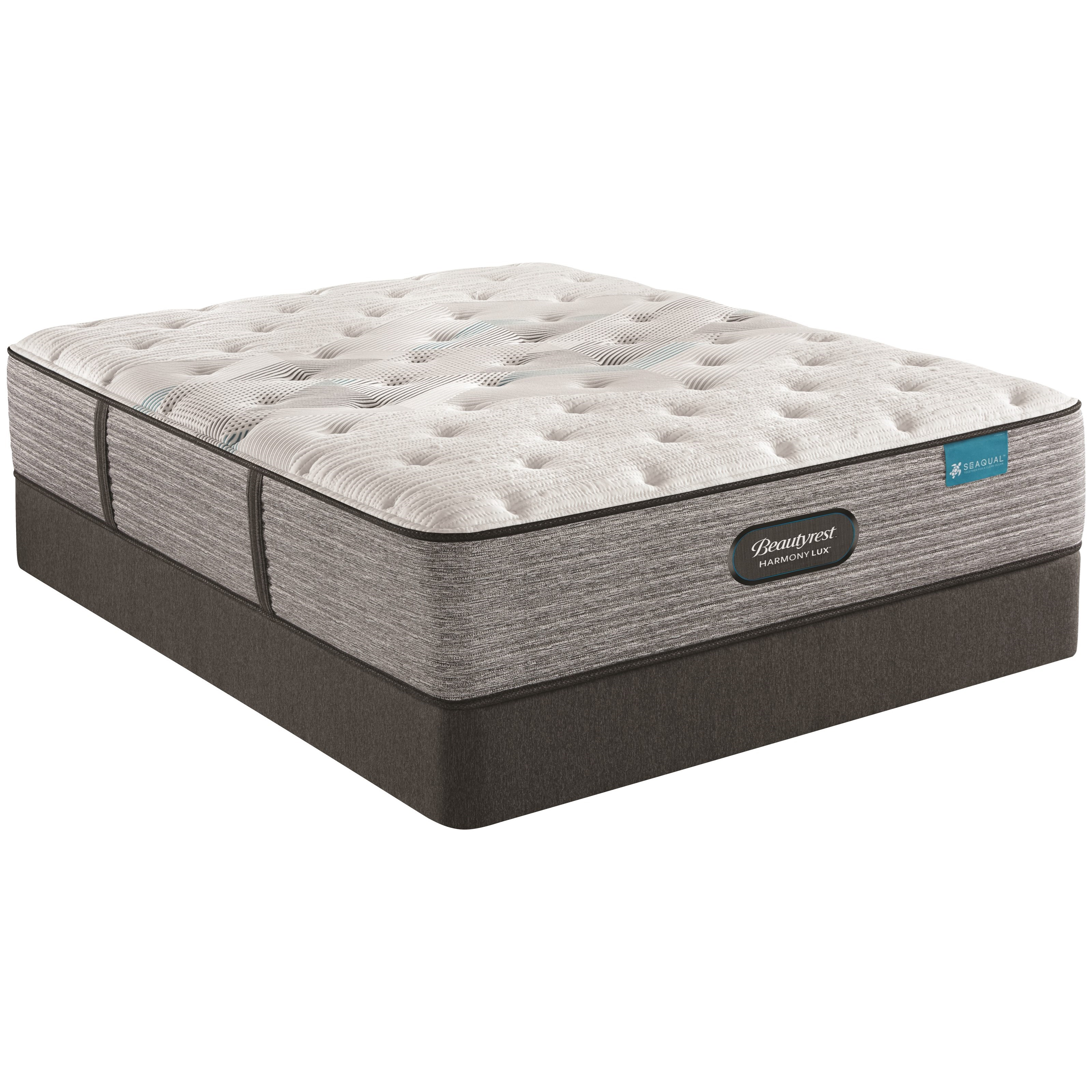 "Carbon Series Plush Full 13 3/4"" Plush Mattress Set by Beautyrest at Novello Home Furnishings"