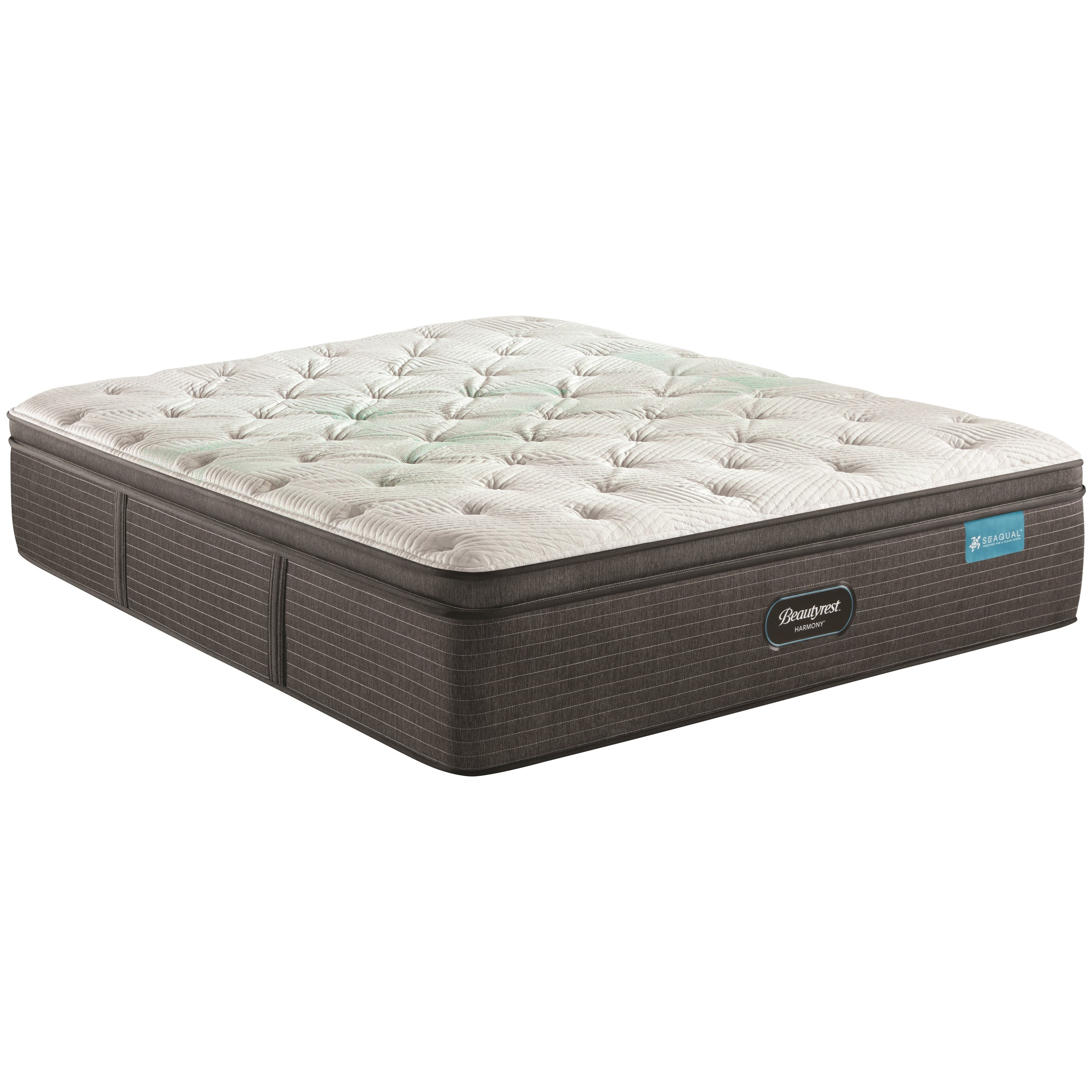 "Cayman Series Medium PT King 15 1/2"" Medium Pillow Top Mattress by Beautyrest at Darvin Furniture"