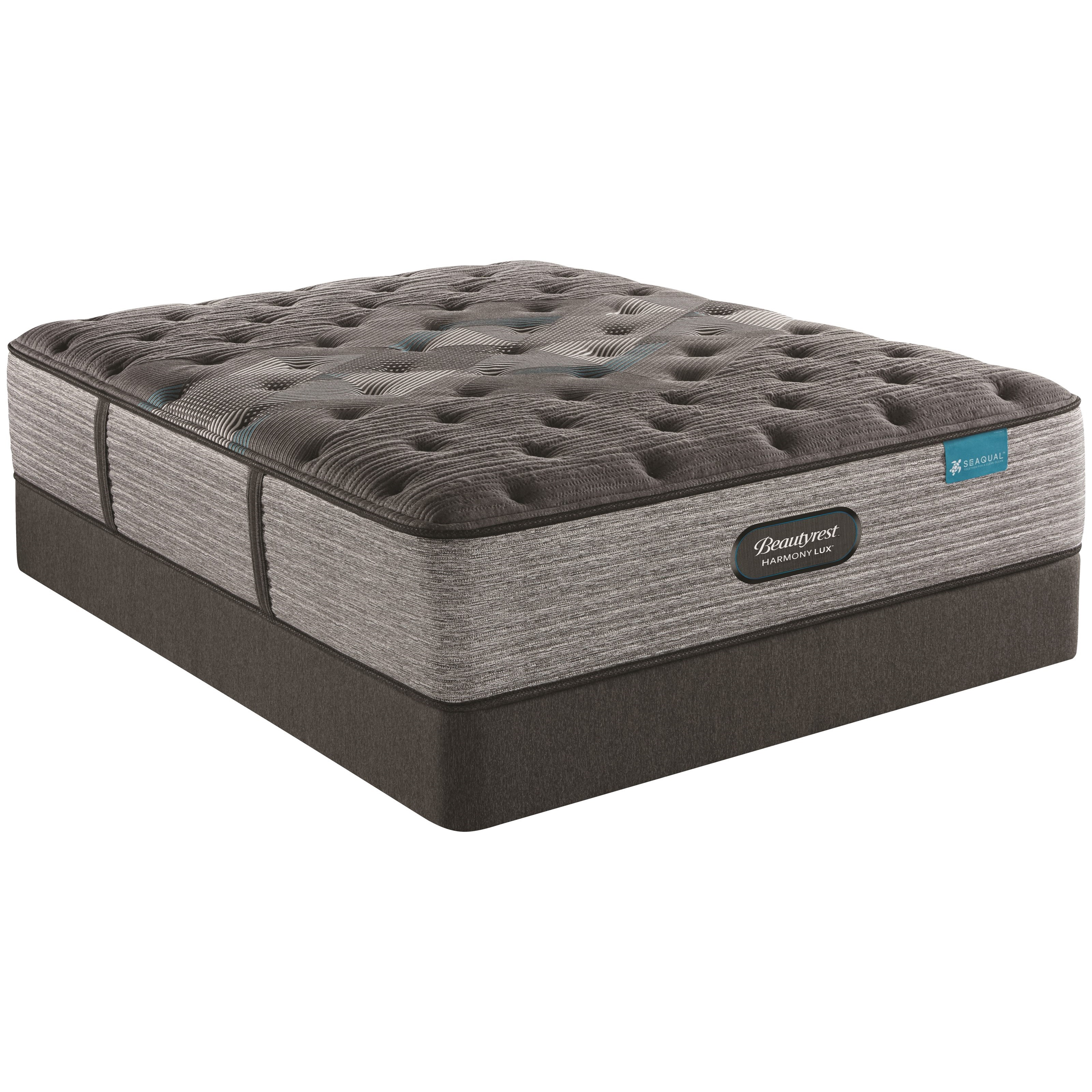 "Diamond Series Medium King 14 3/4"" Med Premium Mattress Set by Beautyrest at Rotmans"