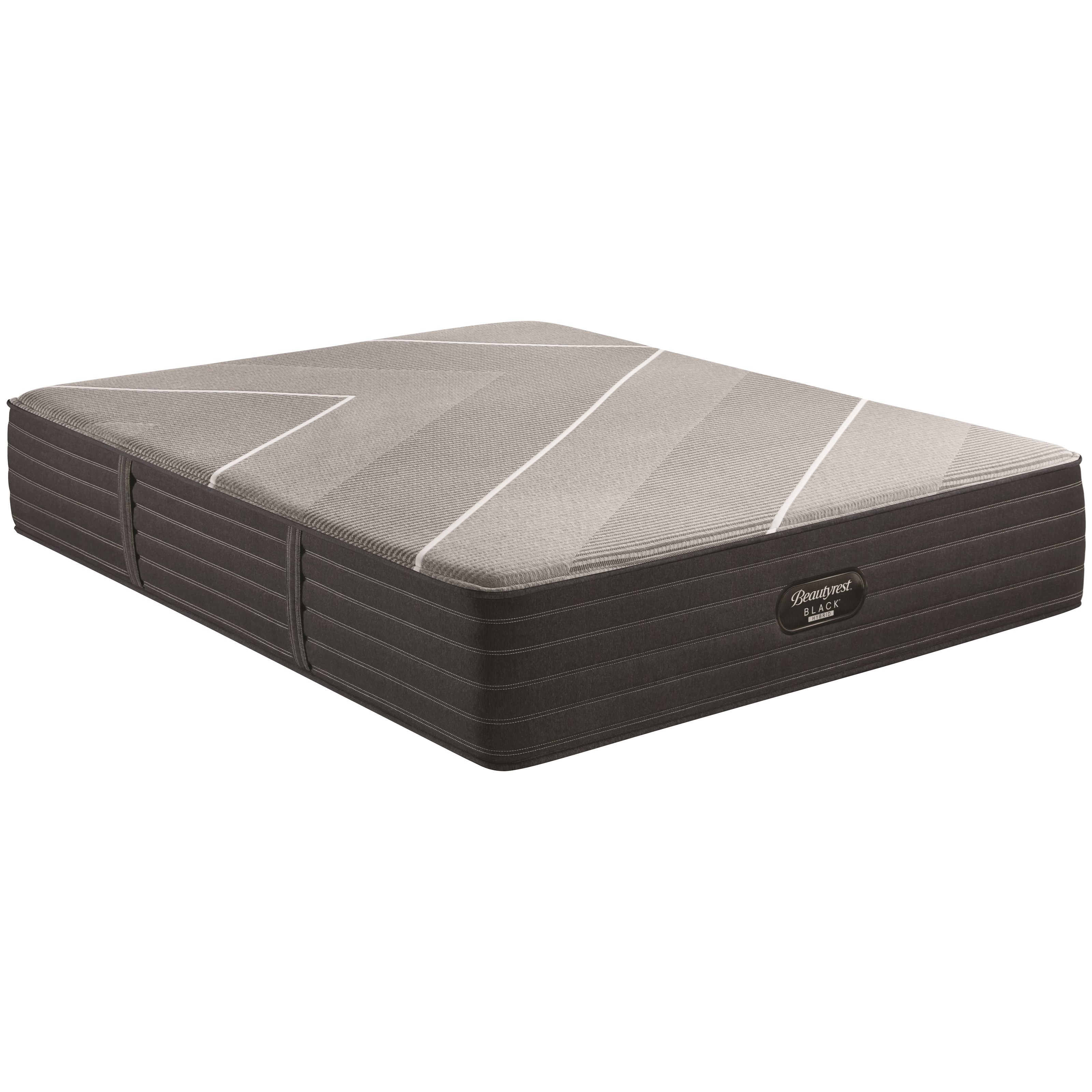 "X-Class Hybrid Firm King 14 1/2"" Firm Hybrid Adj Set by Beautyrest at Walker's Mattress"