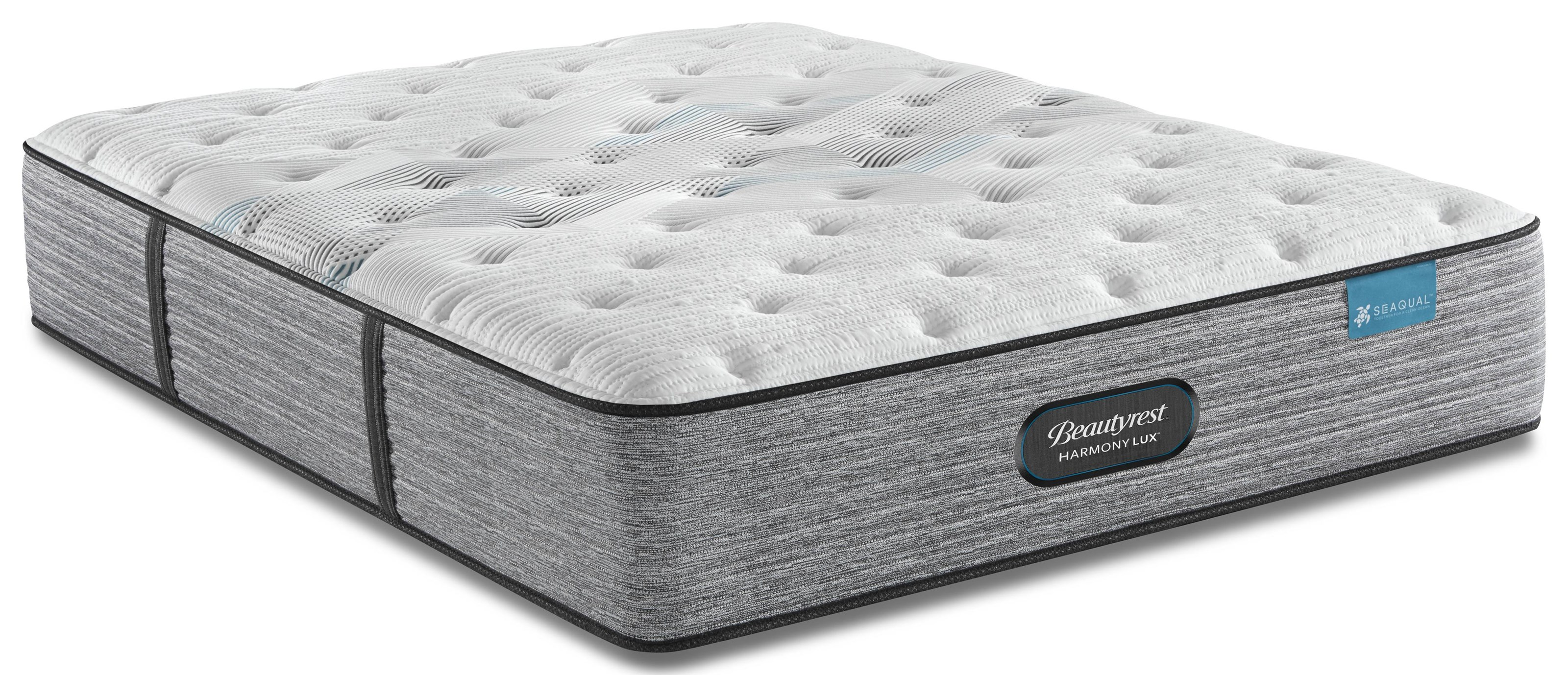 Harmony Lux Double Mattress Plush by Beautyrest Canada at Bennett's Furniture and Mattresses