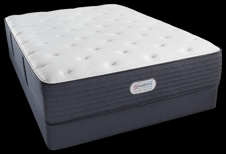 Pewter Tight Top Twin Mattress by Beautyrest Canada at Bennett's Furniture and Mattresses