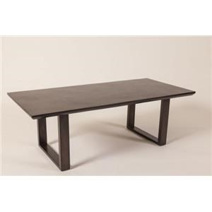 Cocktail Table with Black Stone Top