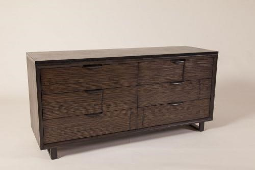 Loft 6 Drawer Double Dresser by C.S. Wo & Sons at C. S. Wo & Sons Hawaii