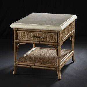 Mandarin End Table by C.S. Wo & Sons at C. S. Wo & Sons Hawaii