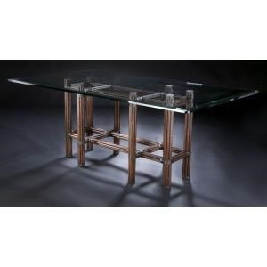 """Sumatra III Sable 84"""" Dining Table by C.S. Wo & Sons at C. S. Wo & Sons Hawaii"""